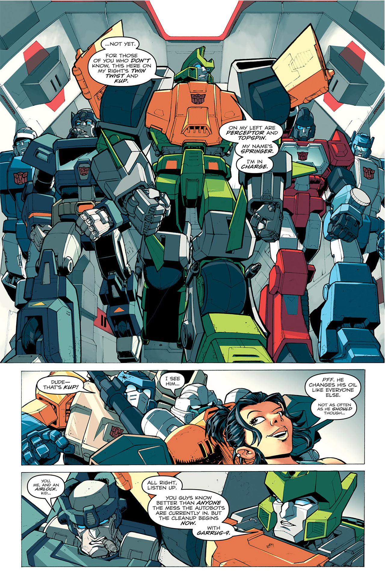 Read online Transformers: Last Stand of The Wreckers comic -  Issue #1 - 14