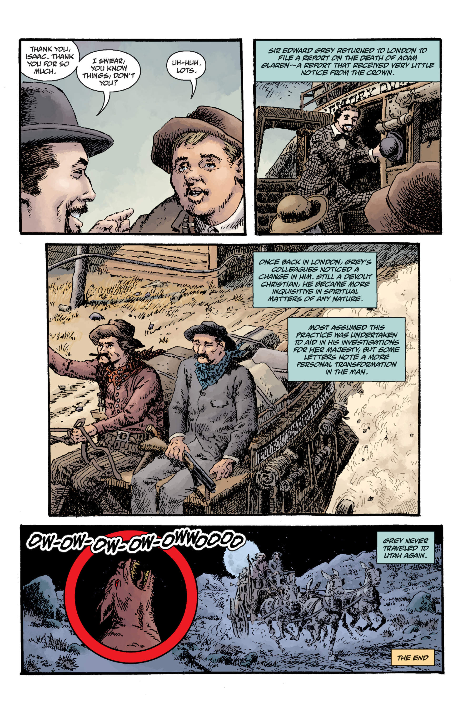 Read online Sir Edward Grey, Witchfinder: Lost and Gone Forever comic -  Issue # TPB - 122