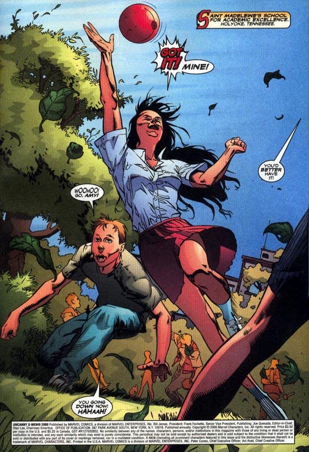 Read online Uncanny X-Men (1963) comic -  Issue # _Annual 2000 - 2