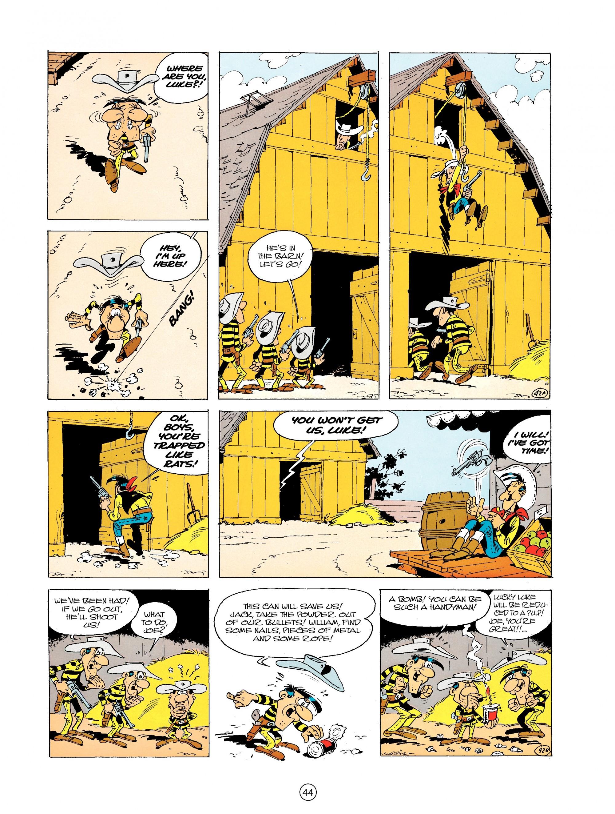 Read online A Lucky Luke Adventure comic -  Issue #19 - 44