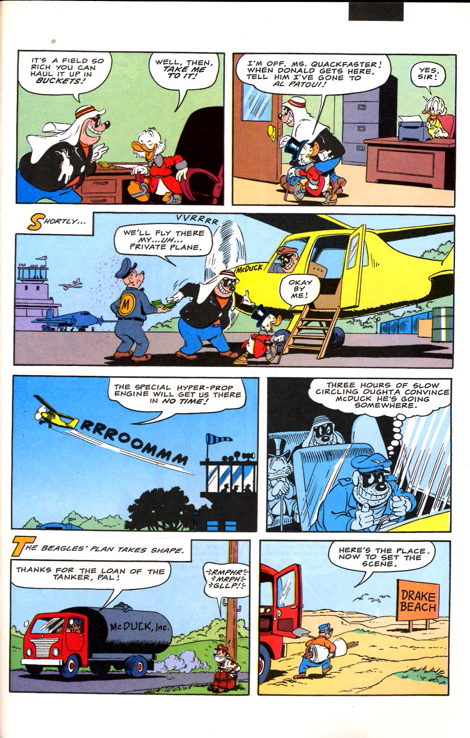 Read online Uncle Scrooge (1953) comic -  Issue #282 - 23