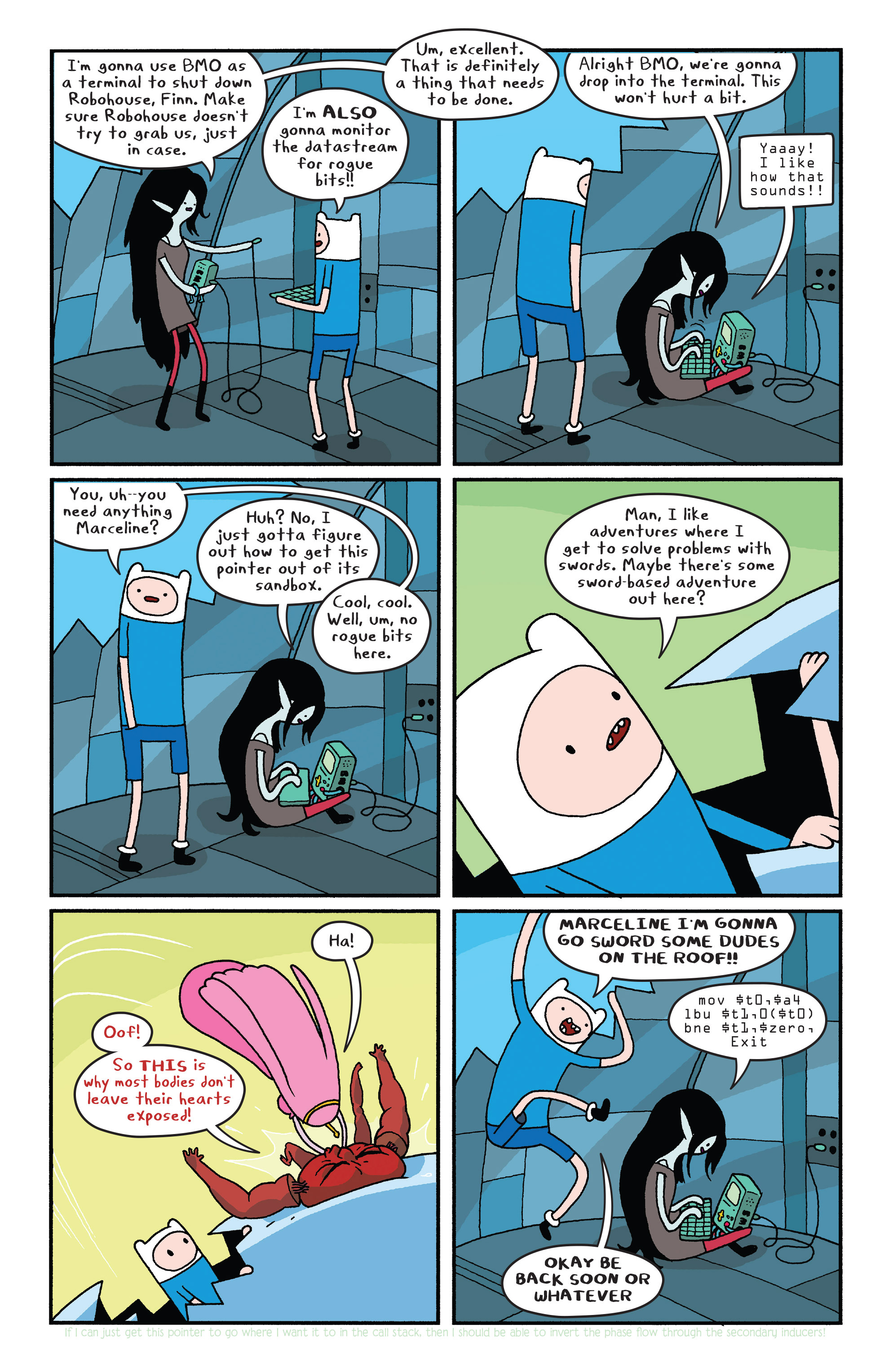 Read online Adventure Time comic -  Issue #Adventure Time _TPB 6 - 28