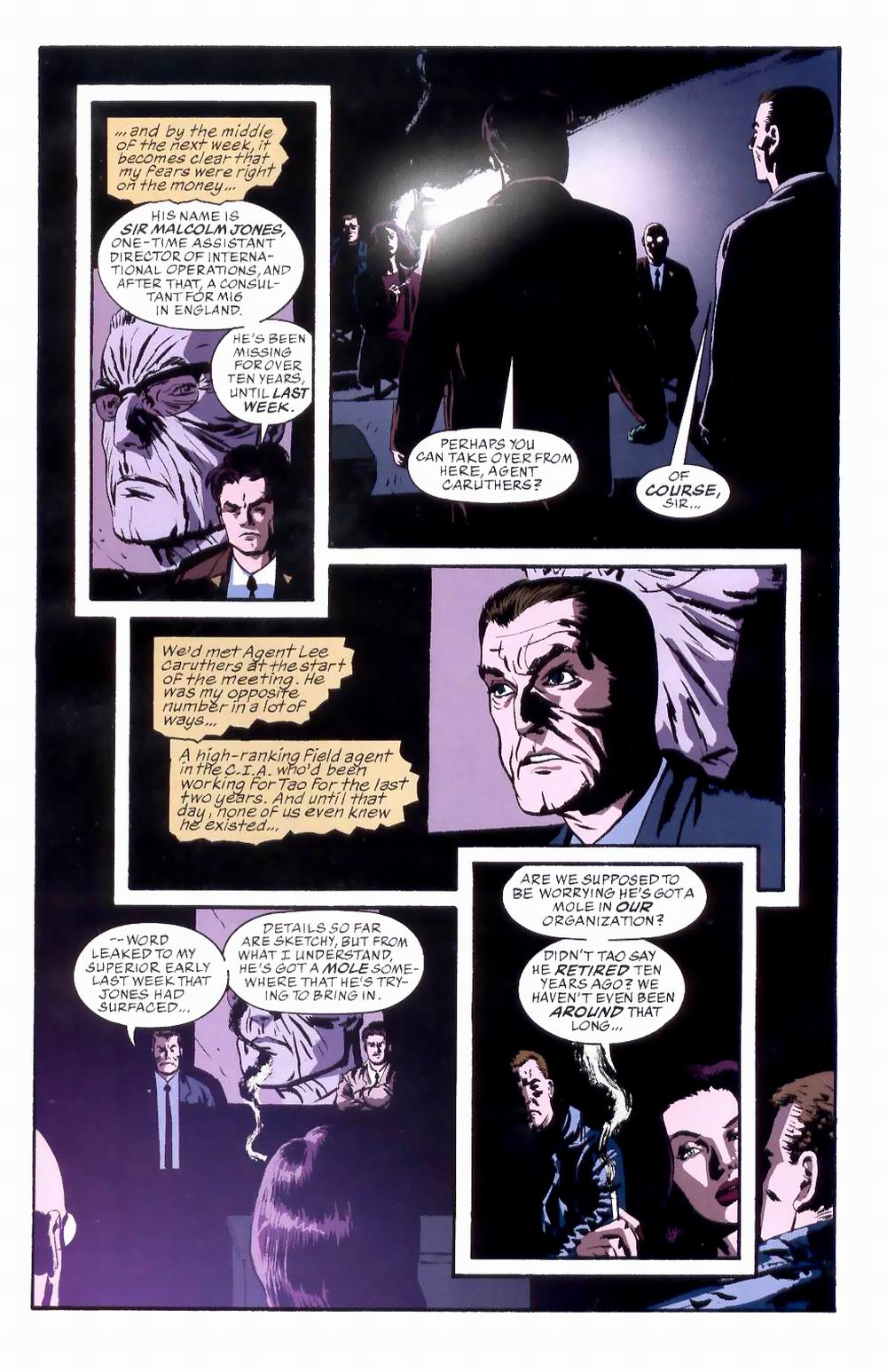 Read online Sleeper comic -  Issue #8 - 10