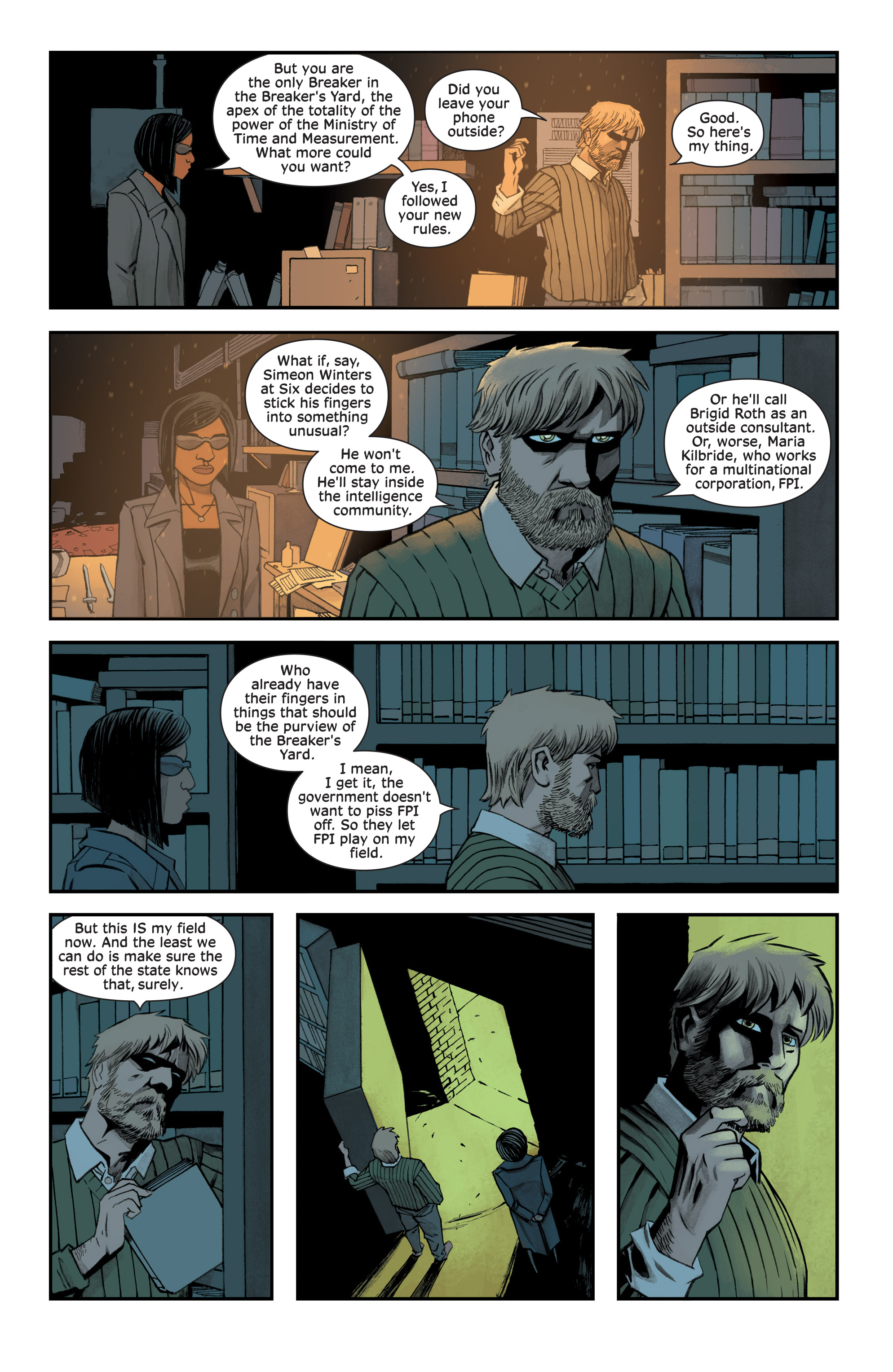 Read online Injection comic -  Issue #13 - 13