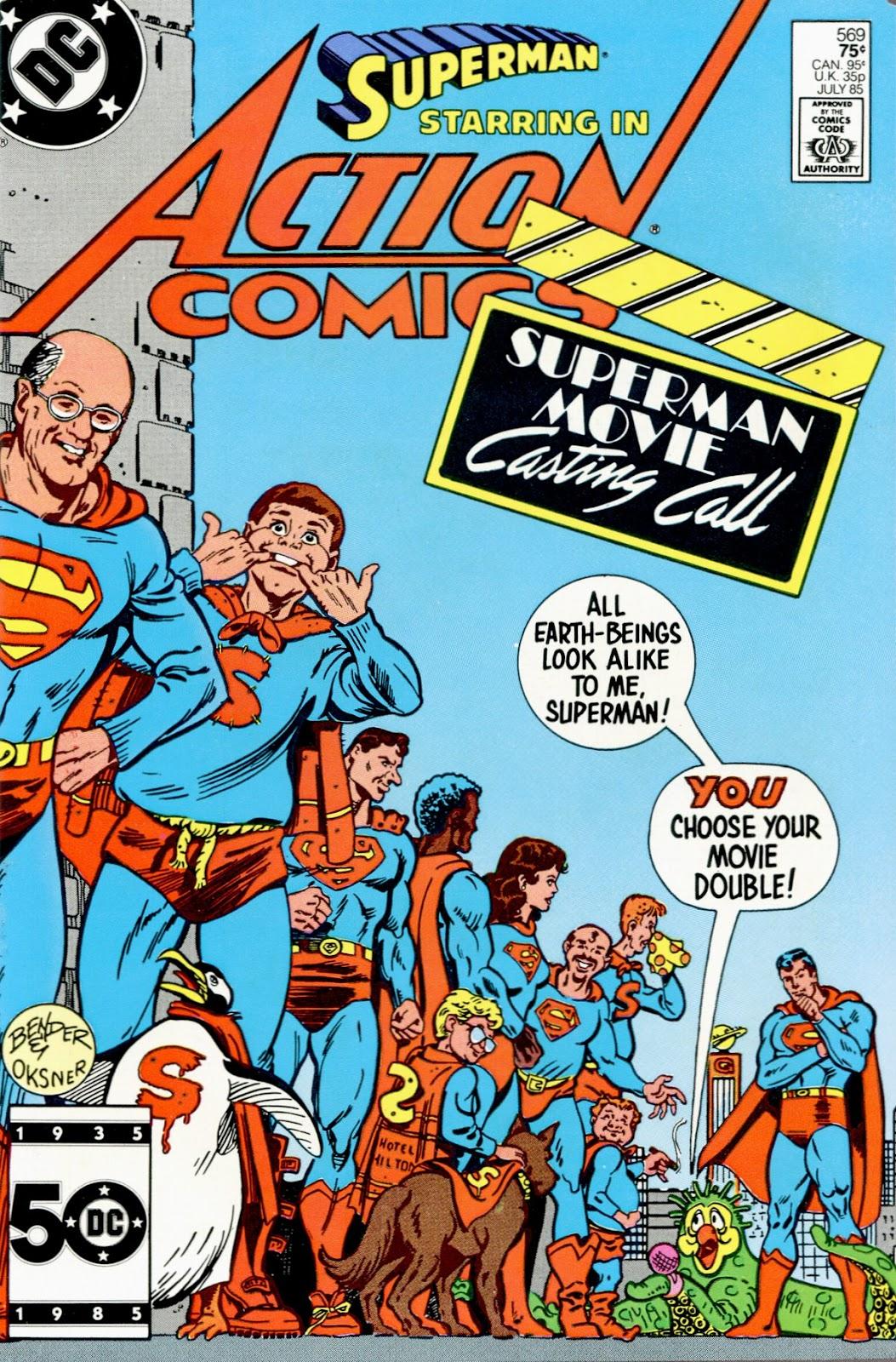 Action Comics (1938) 569 Page 1