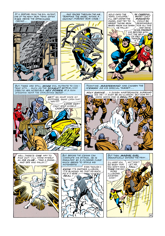 Read online Uncanny X-Men (1963) comic -  Issue #5 - 15