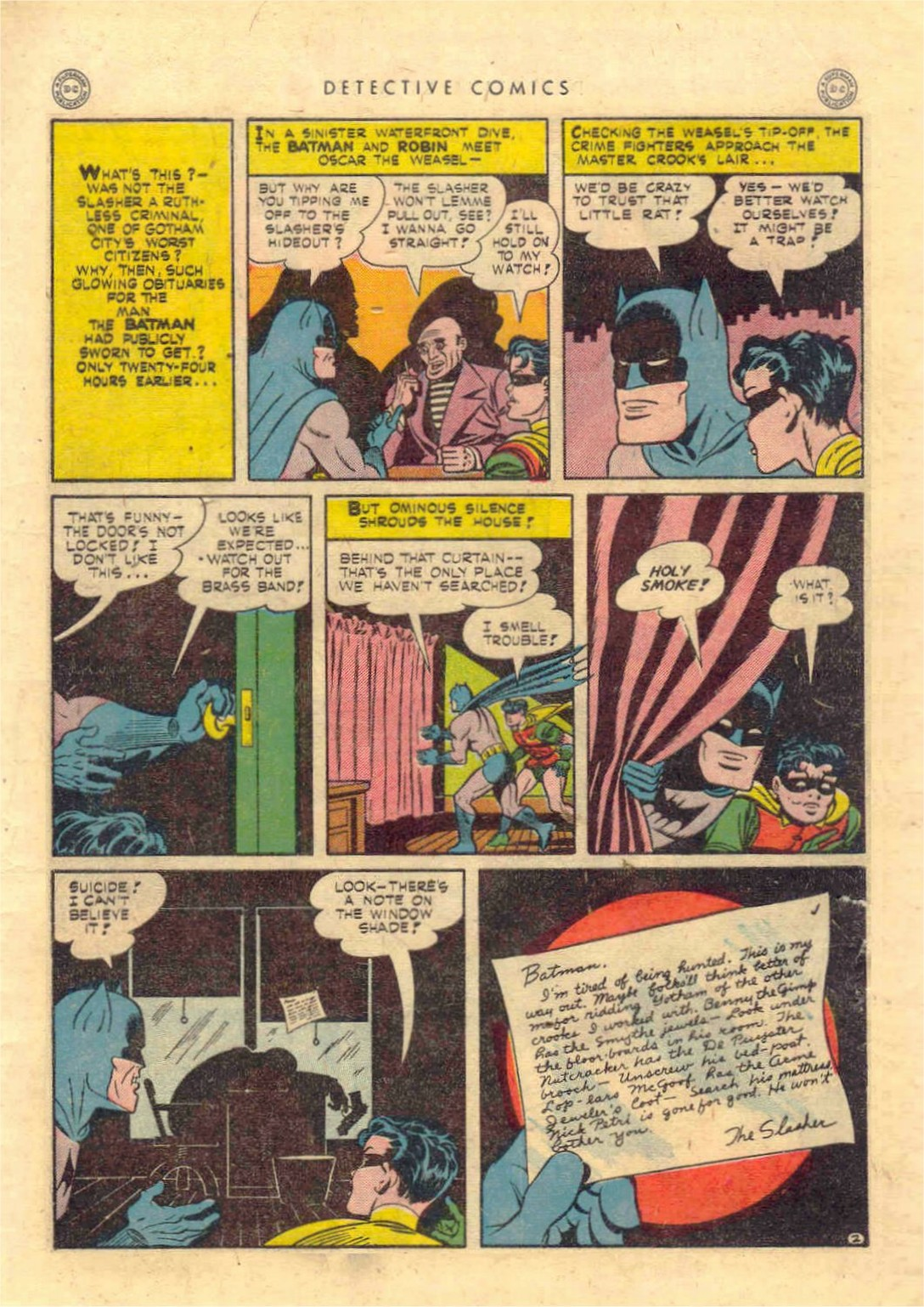 Read online Detective Comics (1937) comic -  Issue #97 - 4