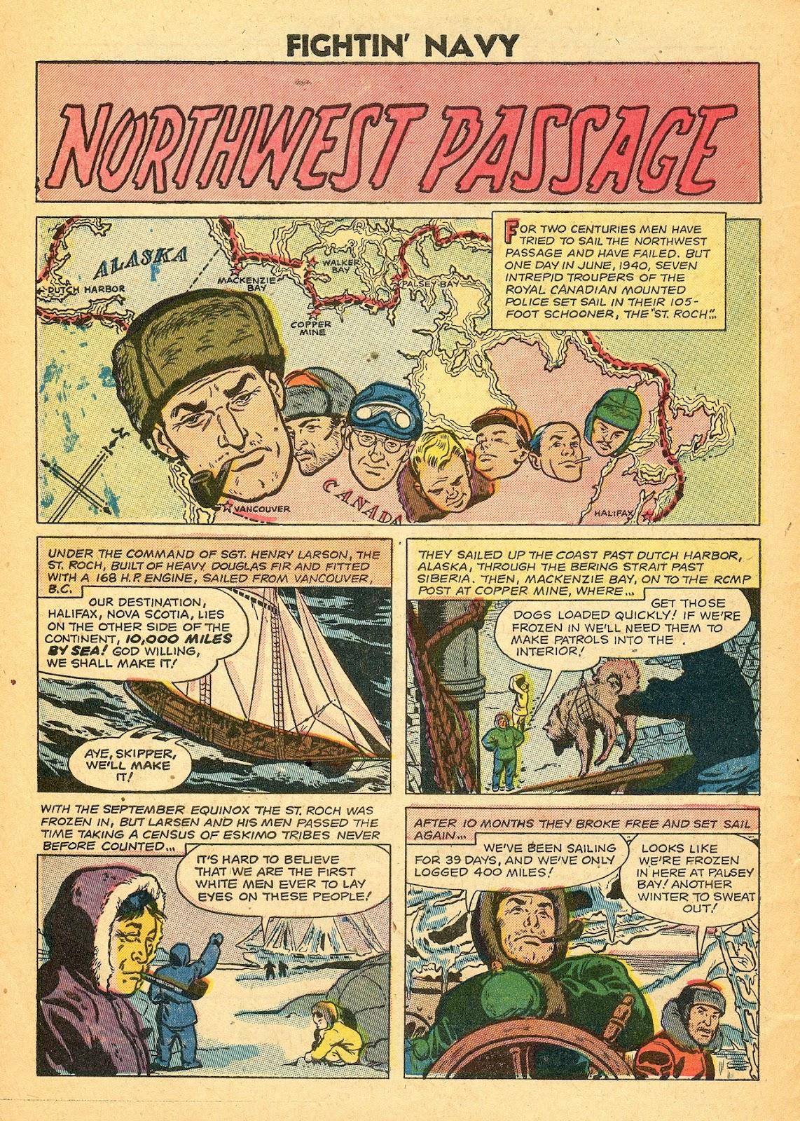 Read online Fightin' Navy comic -  Issue #77 - 32