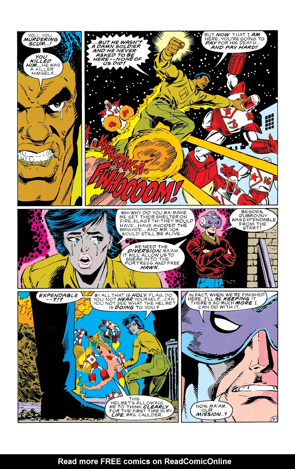 Doom Patrol and Suicide Squad Special issue Special 1 - Page 36