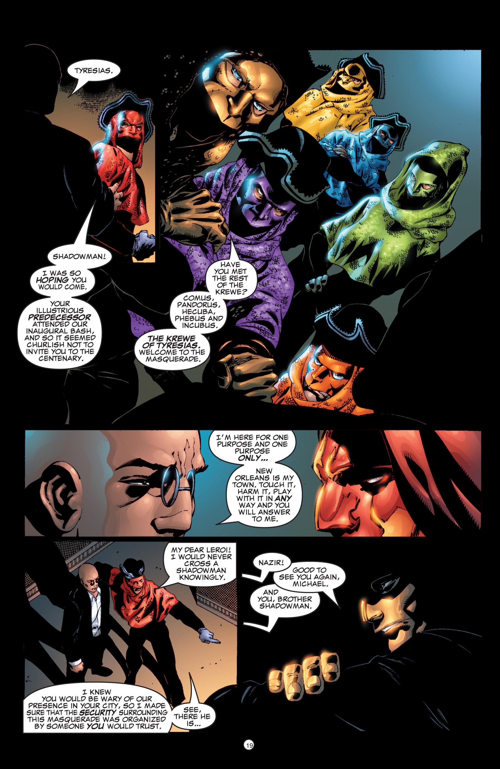 Read online Shadowman (1999) comic -  Issue #6 - 20