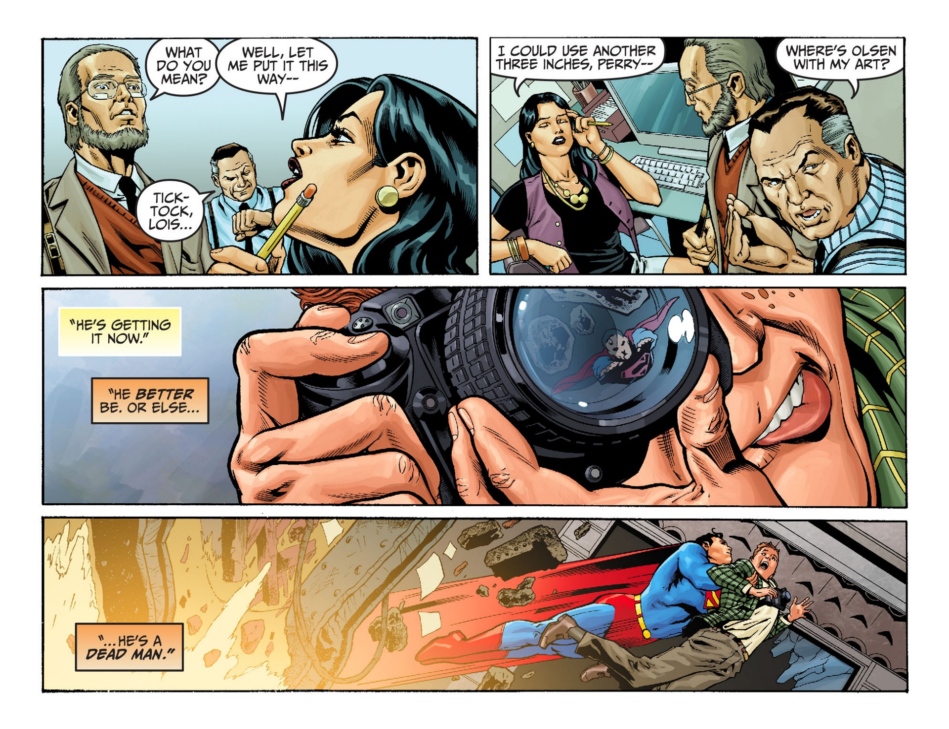 Read online Adventures of Superman [I] comic -  Issue #22 - 5