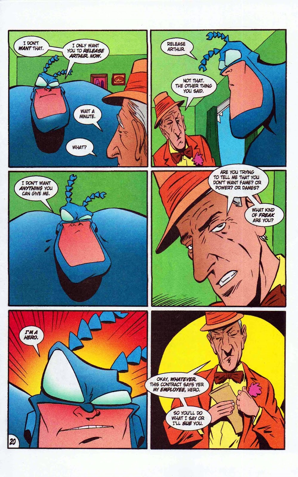 Read online The Tick: Days of Drama comic -  Issue #6 - 22