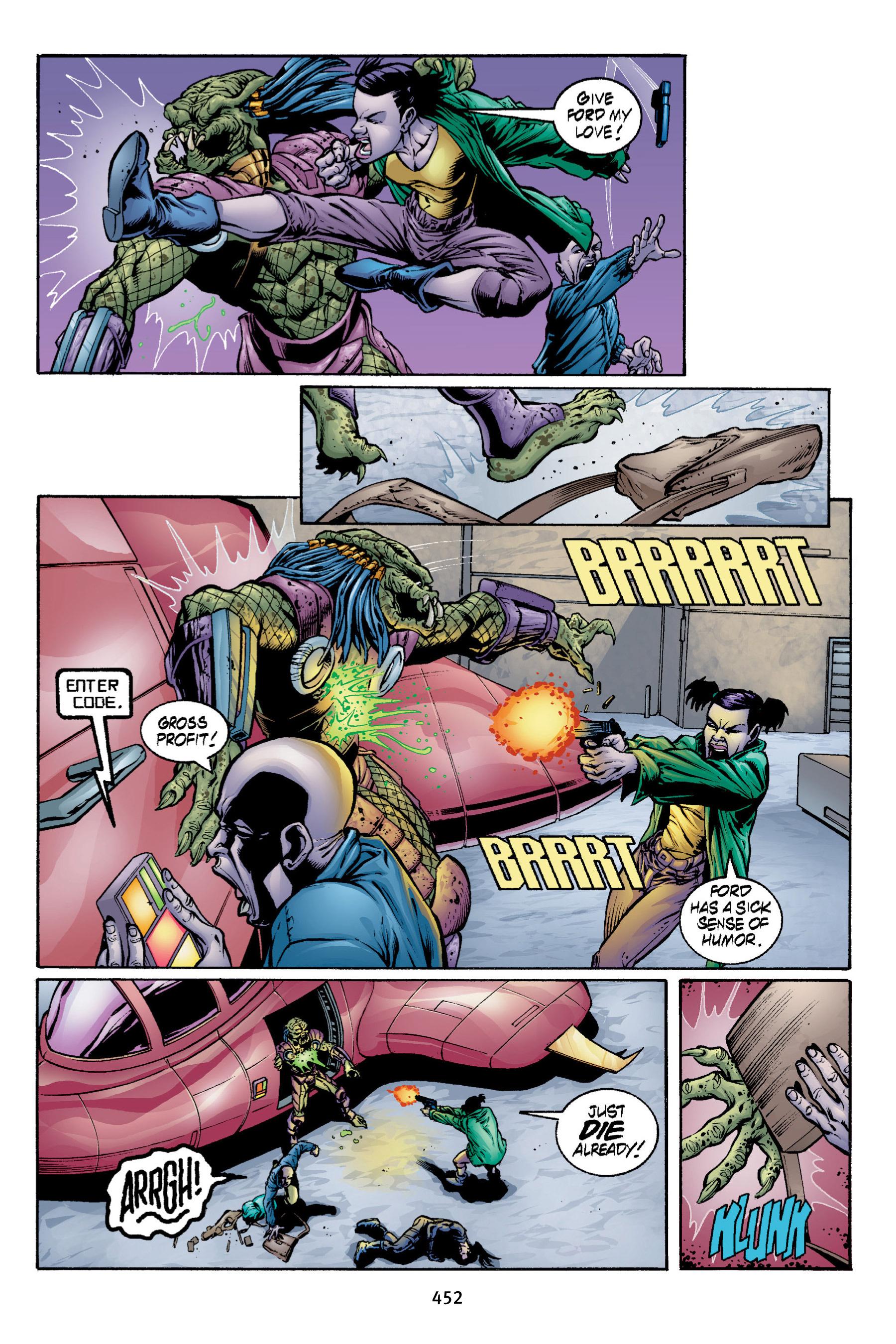 Read online Aliens vs. Predator Omnibus comic -  Issue # _TPB 2 Part 4 - 114