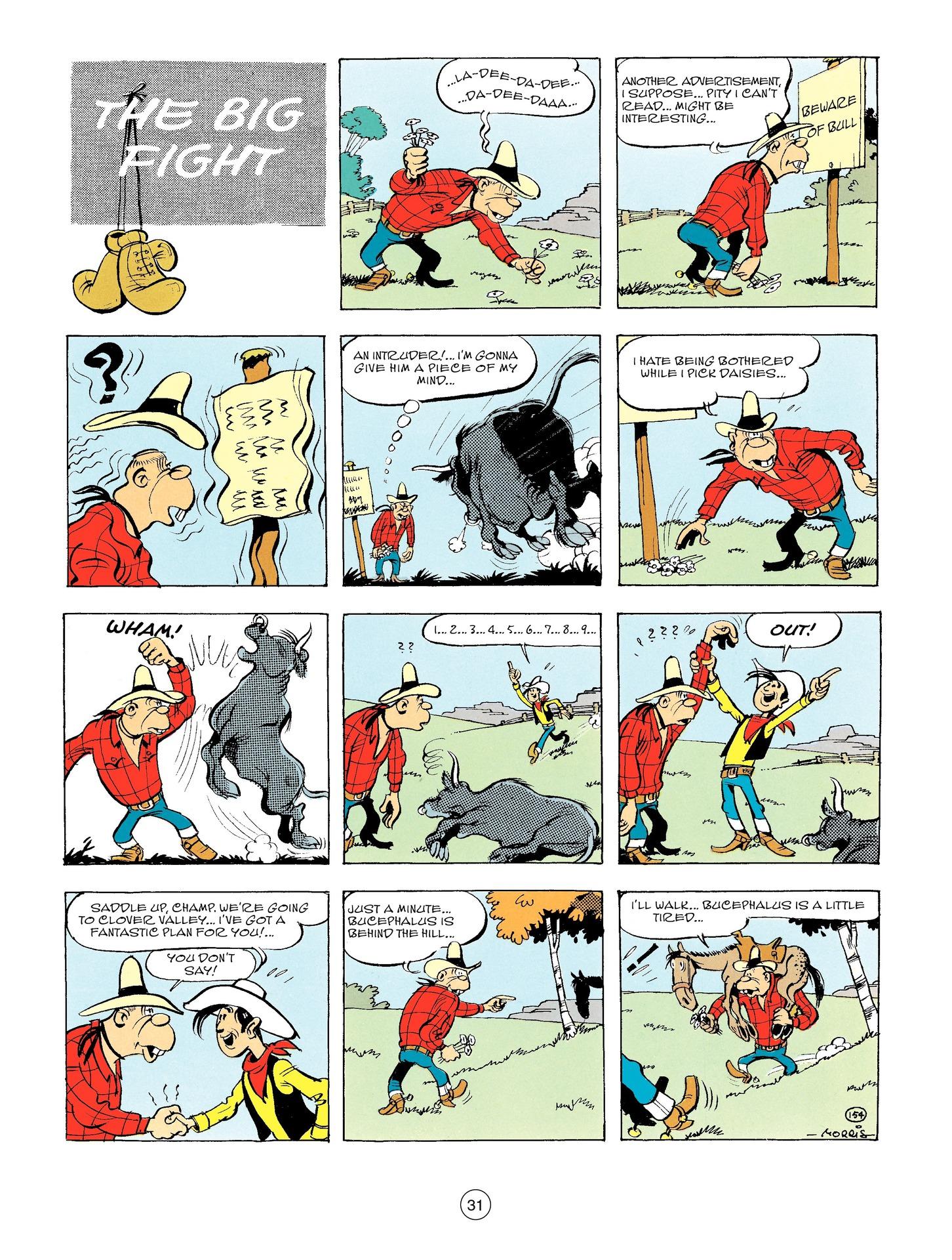 Read online A Lucky Luke Adventure comic -  Issue #56 - 31
