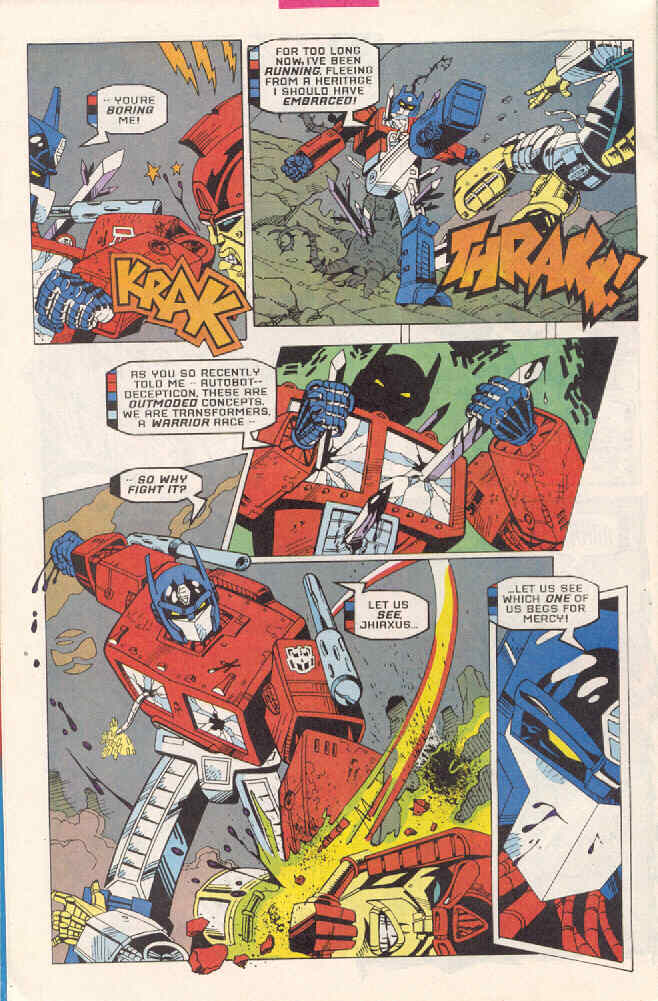 Read online Transformers: Generation 2 comic -  Issue #3 - 6