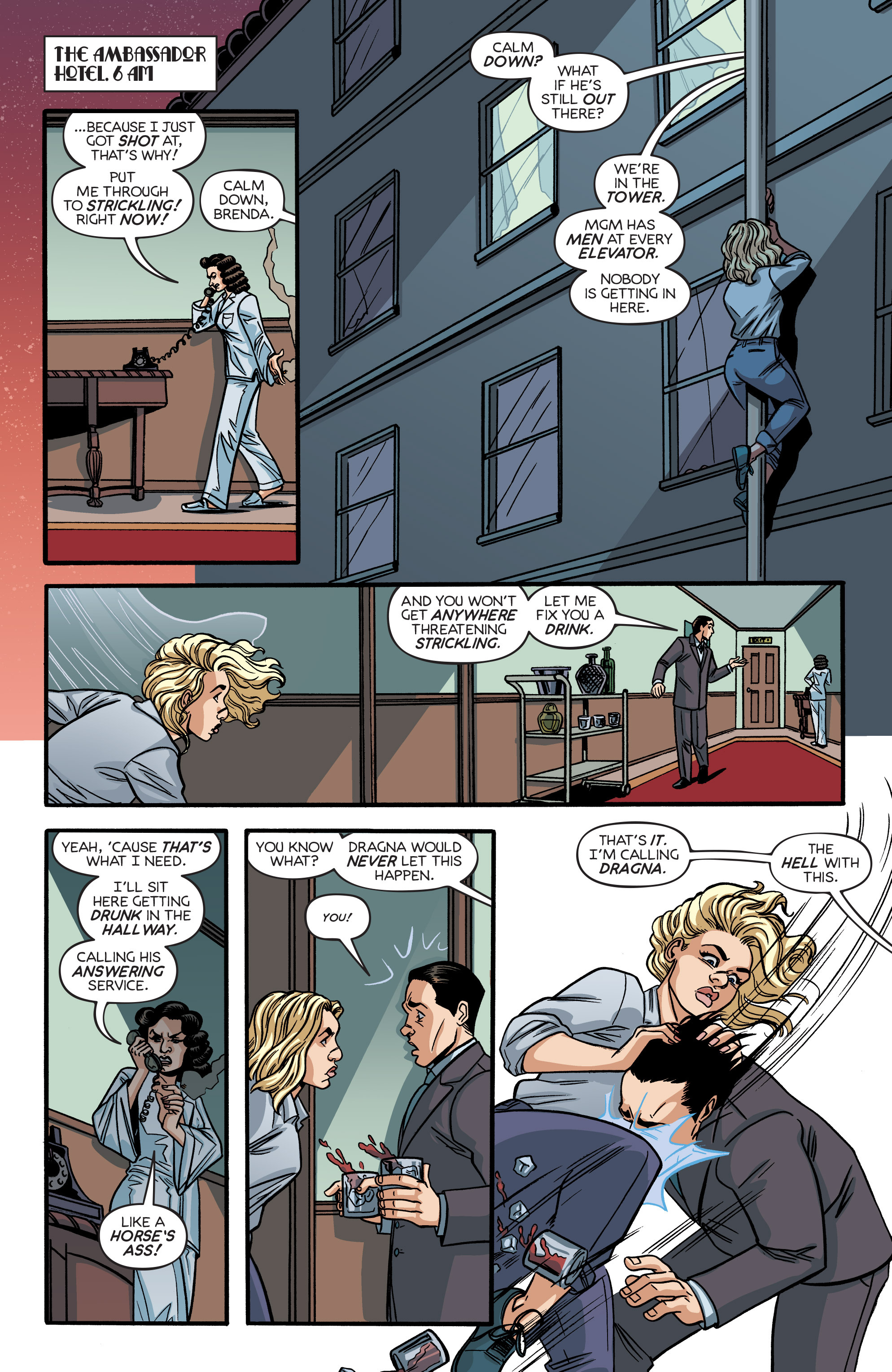 Read online Angel City comic -  Issue #6 - 9