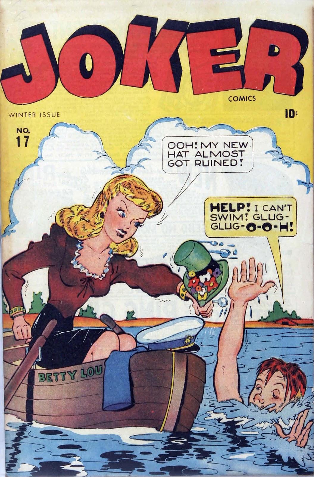 Read online Joker Comics comic -  Issue #17 - 1