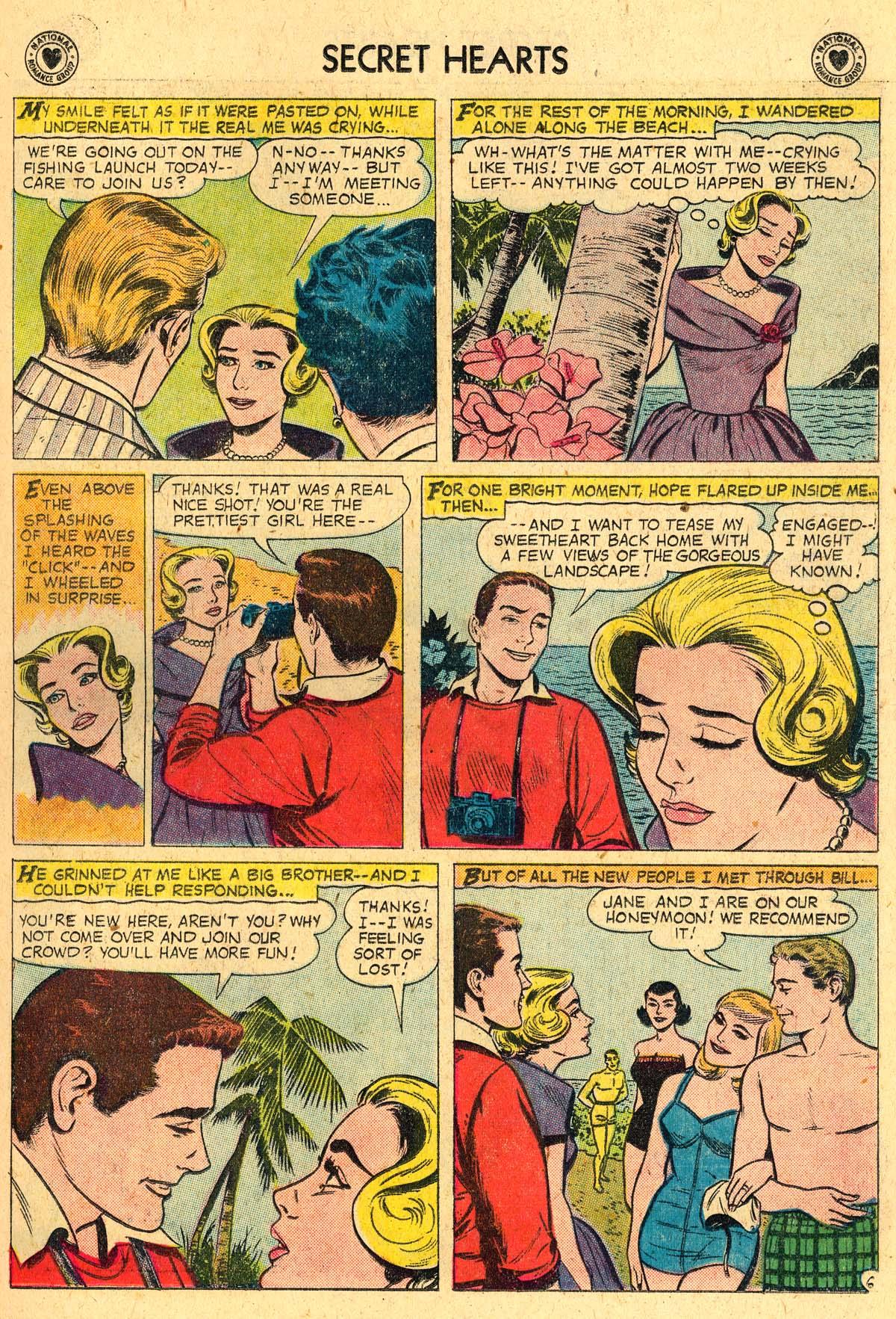 Read online Secret Hearts comic -  Issue #57 - 15
