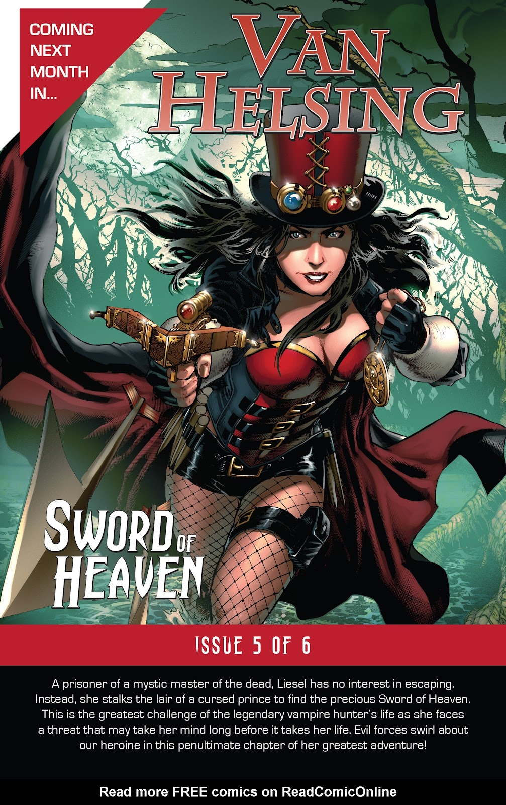 Read online Van Helsing: Sword of Heaven comic -  Issue #4 - 25