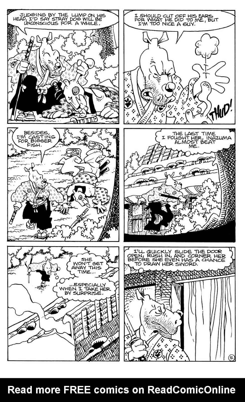 Usagi Yojimbo (1996) Issue #79 #79 - English 22