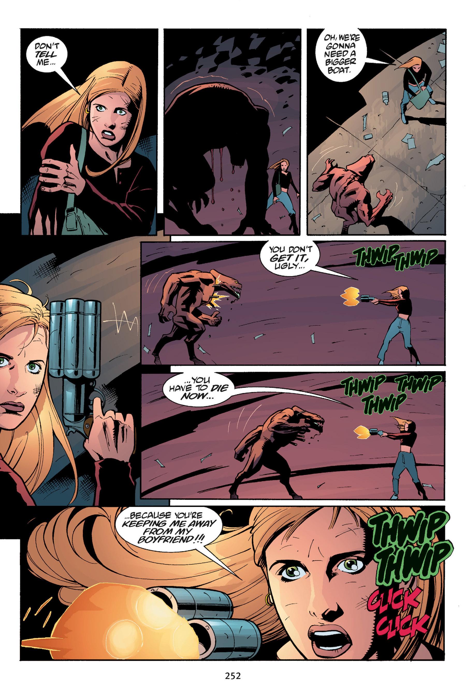 Read online Buffy the Vampire Slayer: Omnibus comic -  Issue # TPB 5 - 251
