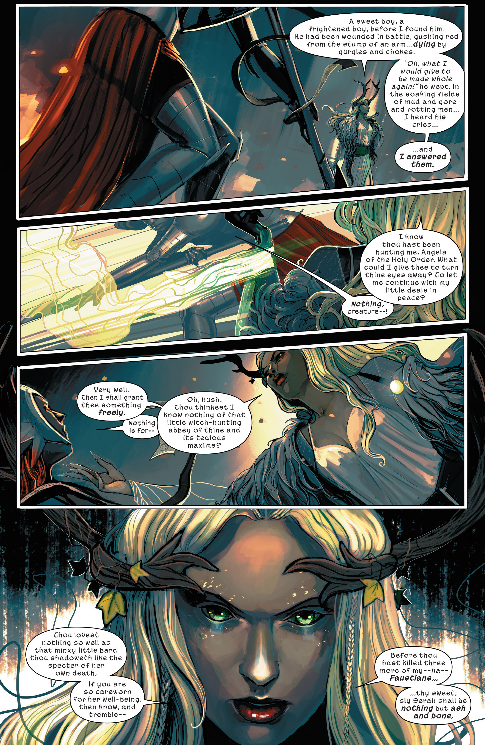 Read online 1602 Witch Hunter Angela comic -  Issue #1 - 20