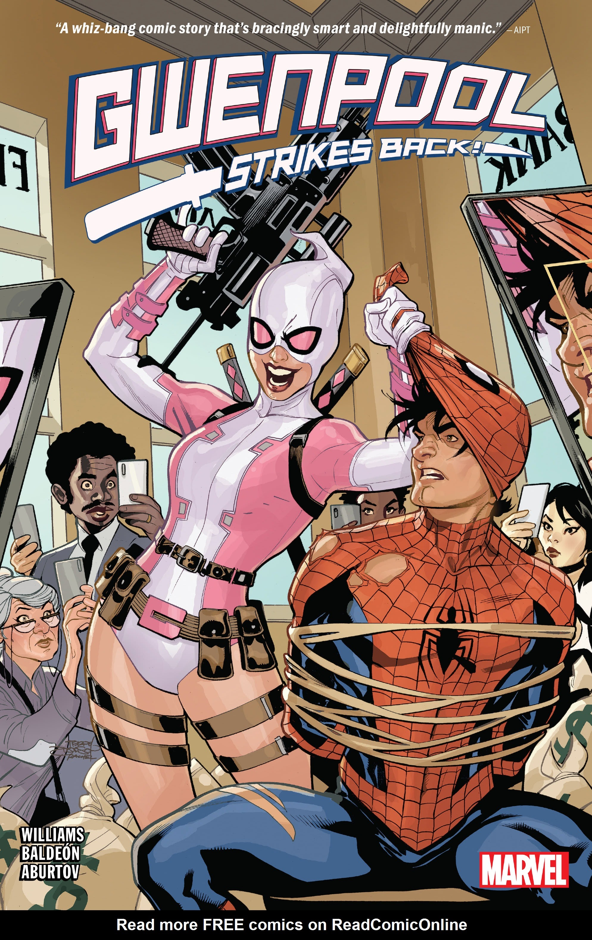 Gwenpool Strikes Back issue _TPB - Page 1