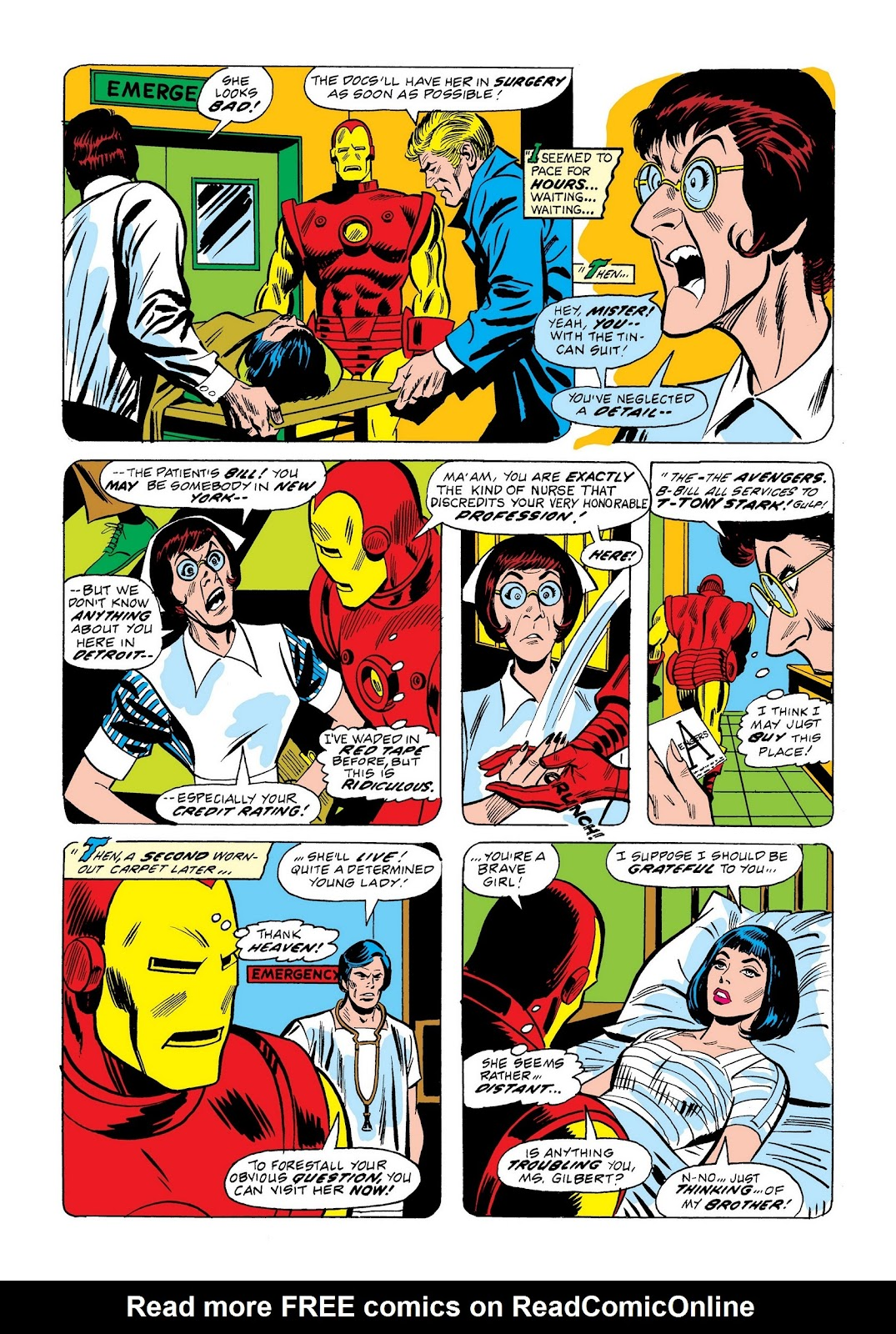 Read online Marvel Masterworks: The Invincible Iron Man comic -  Issue # TPB 9 (Part 2) - 38