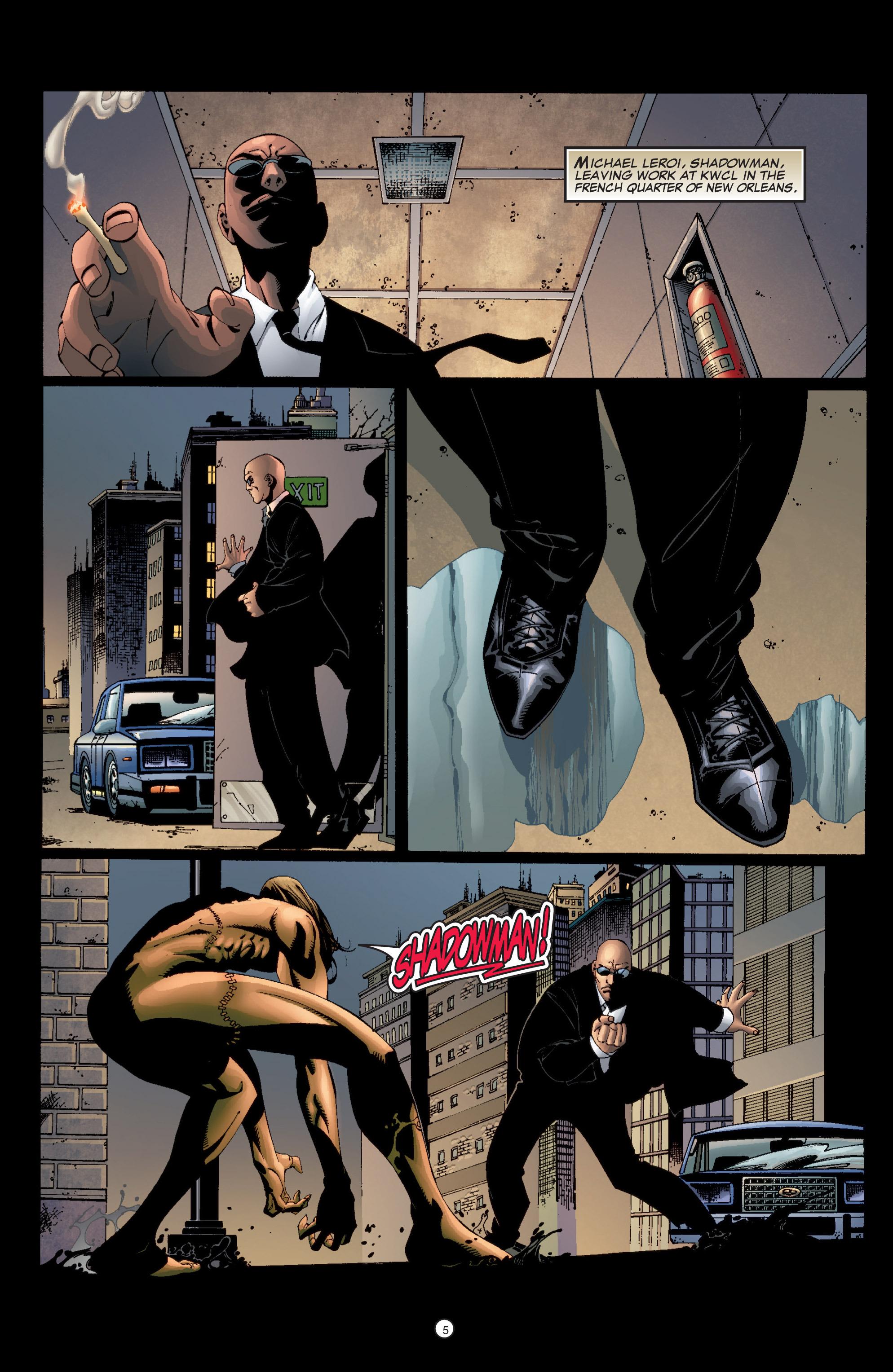 Read online Shadowman (1999) comic -  Issue #6 - 7