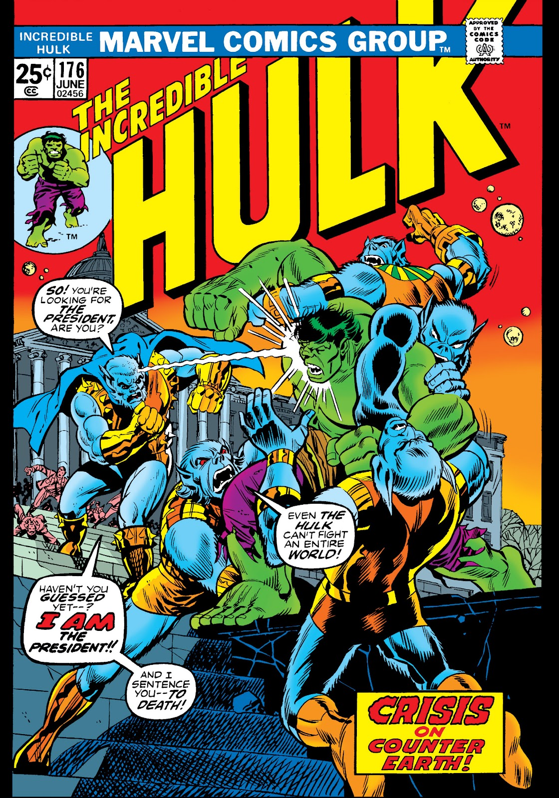 Read online Marvel Masterworks: The Incredible Hulk comic -  Issue # TPB 10 (Part 2) - 8