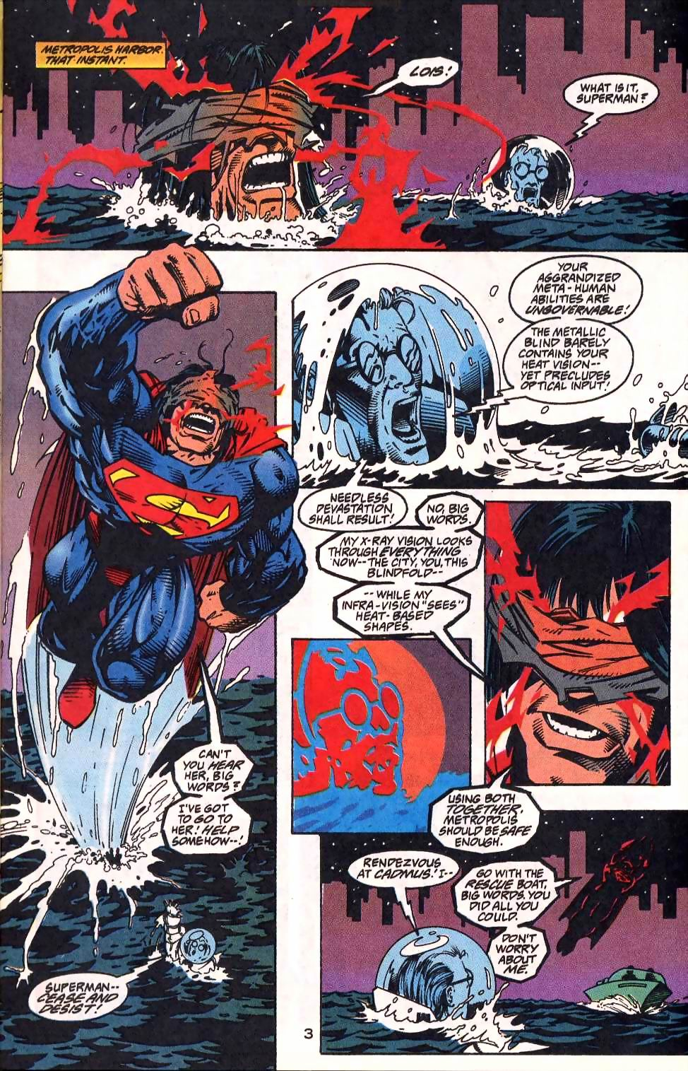 Read online Adventures of Superman (1987) comic -  Issue #512 - 4