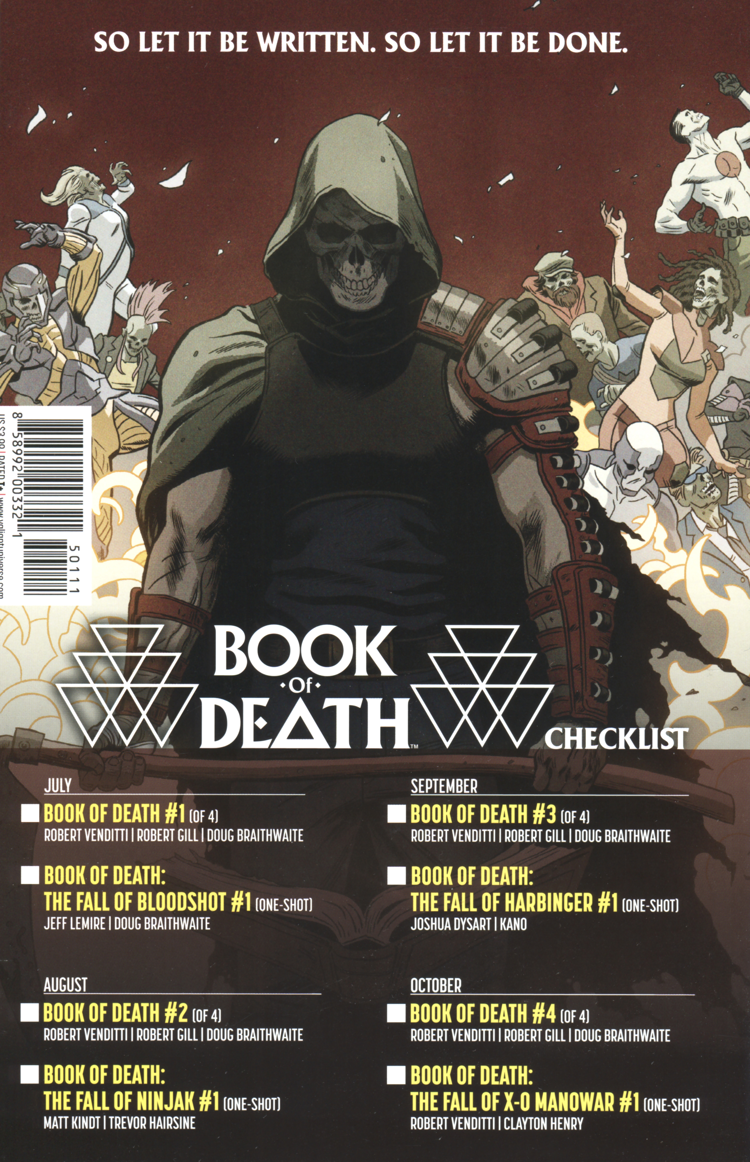 Read online Book of Death: Legends of the Geomancer comic -  Issue #1 - 28