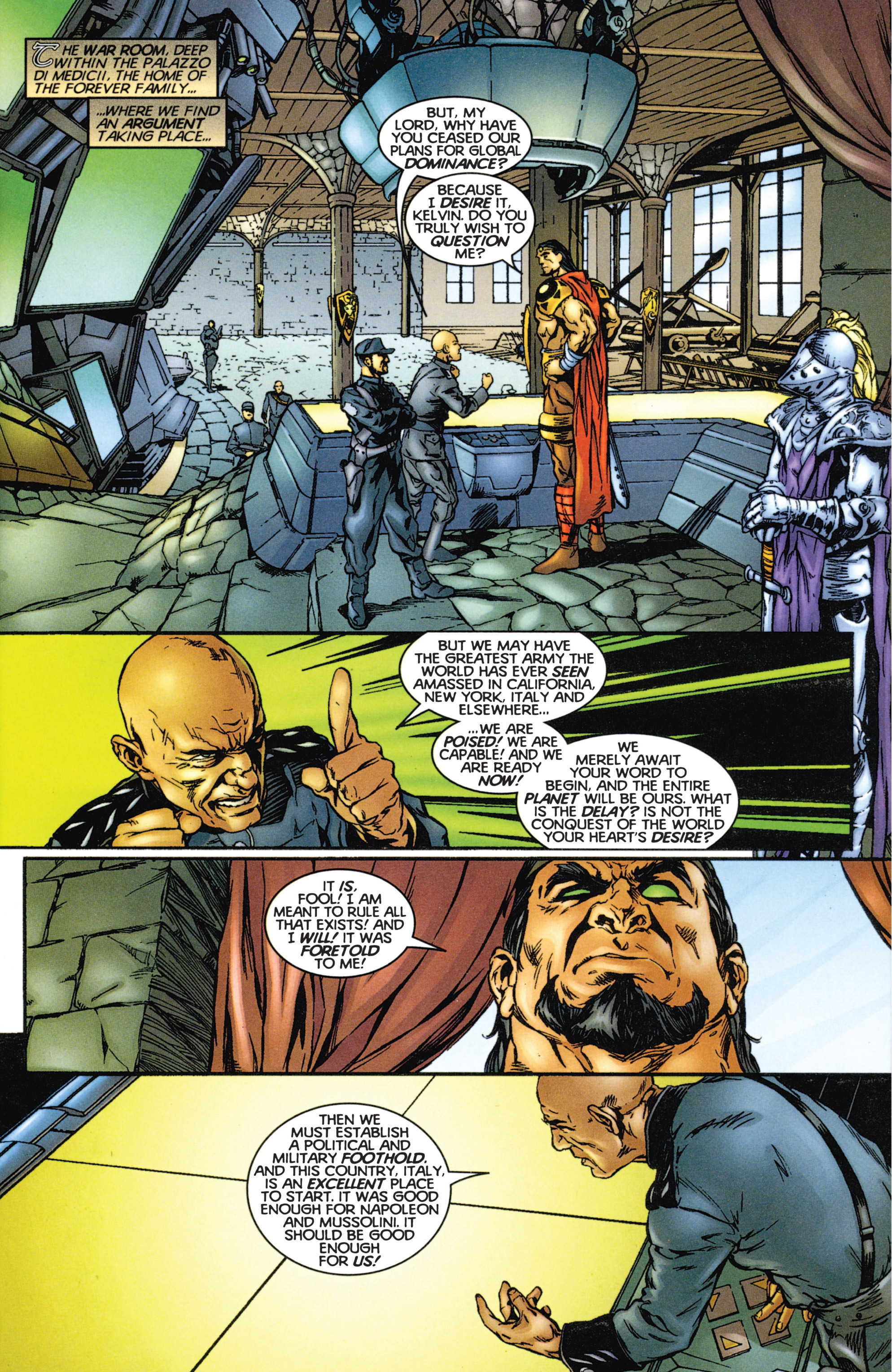 Read online Eternal Warriors comic -  Issue # Issue The Immortal Enemy - 10