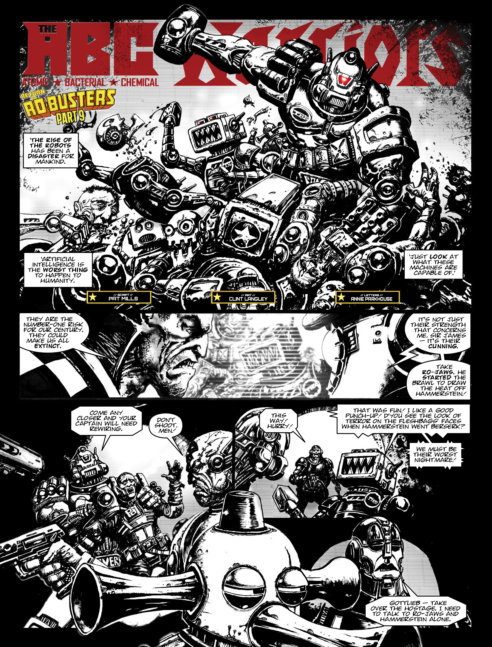 Read online 2000 AD comic -  Issue #1969 - 14