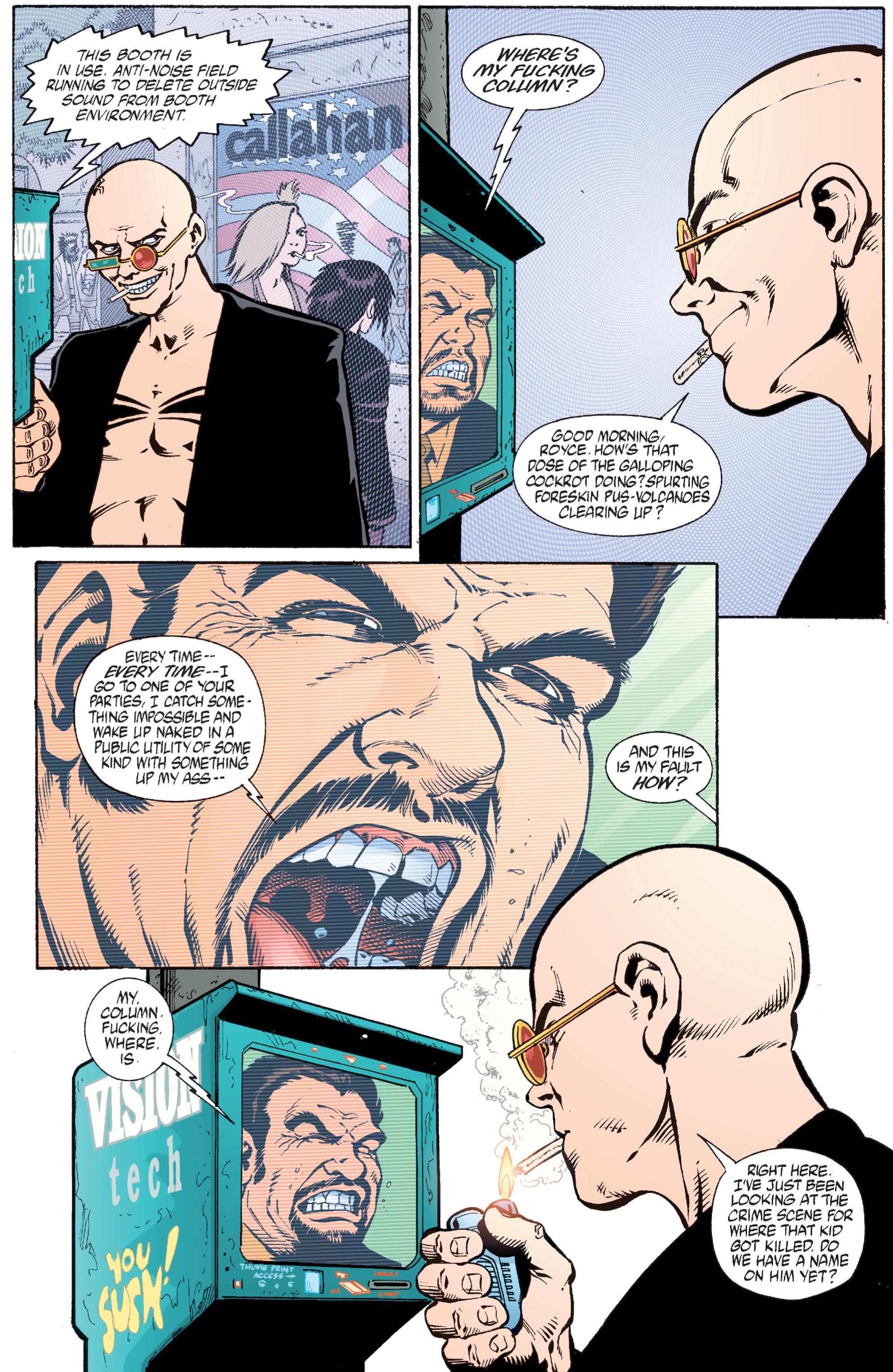 Read online Transmetropolitan comic -  Issue #28 - 21