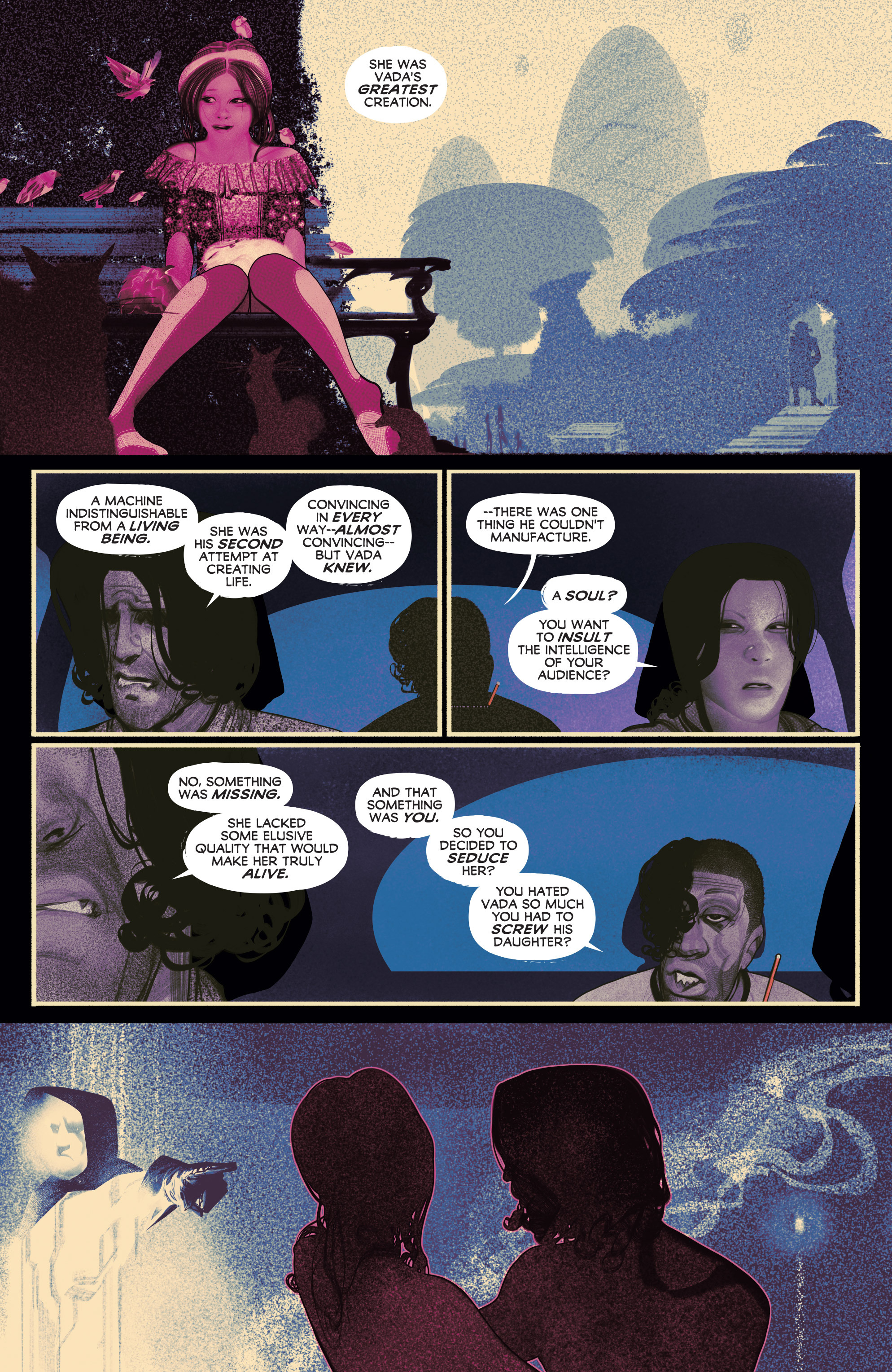 Read online Annihilator comic -  Issue #5 - 16