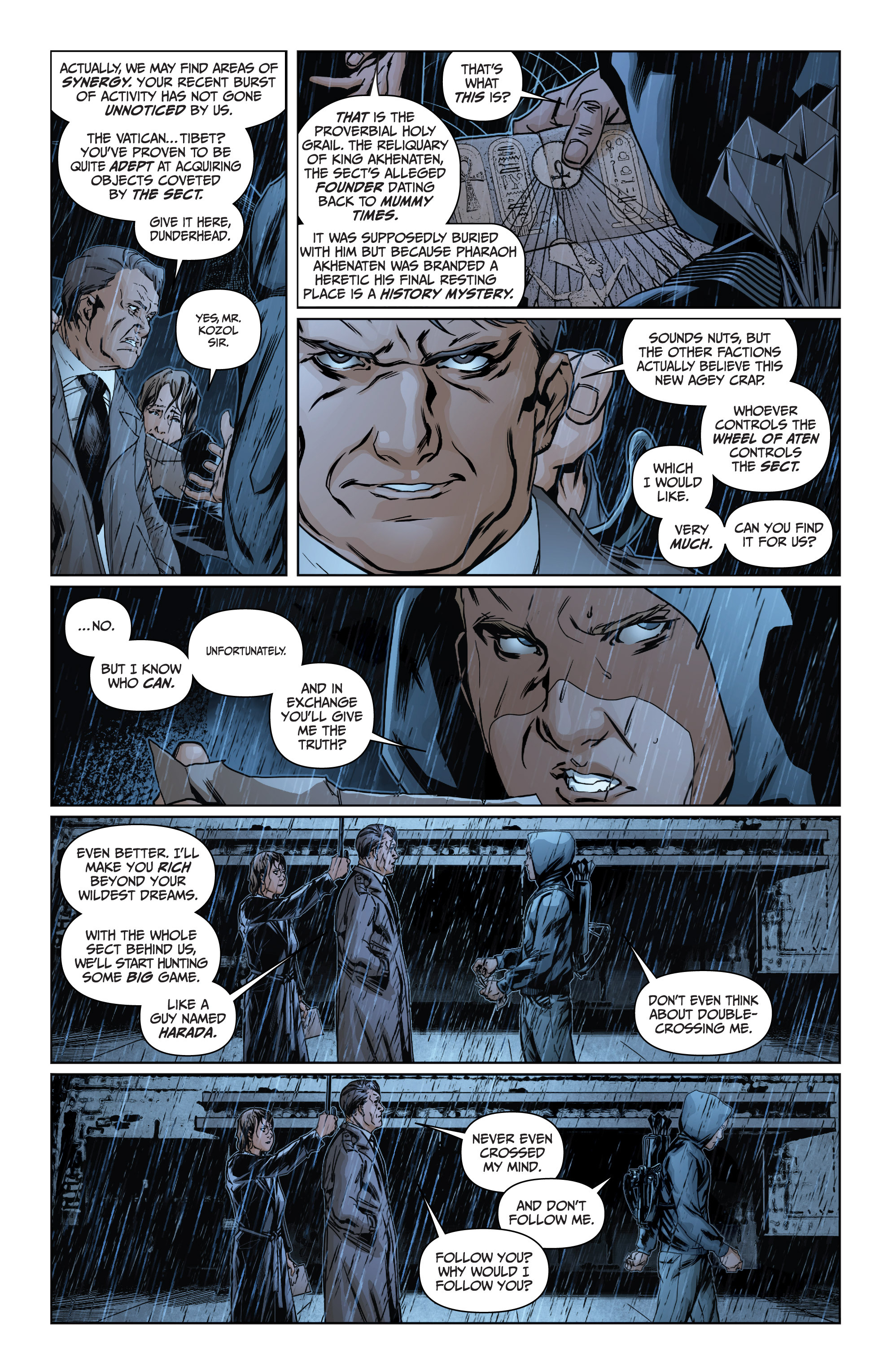 Read online Archer and Armstrong comic -  Issue #Archer and Armstrong _TPB 4 - 22