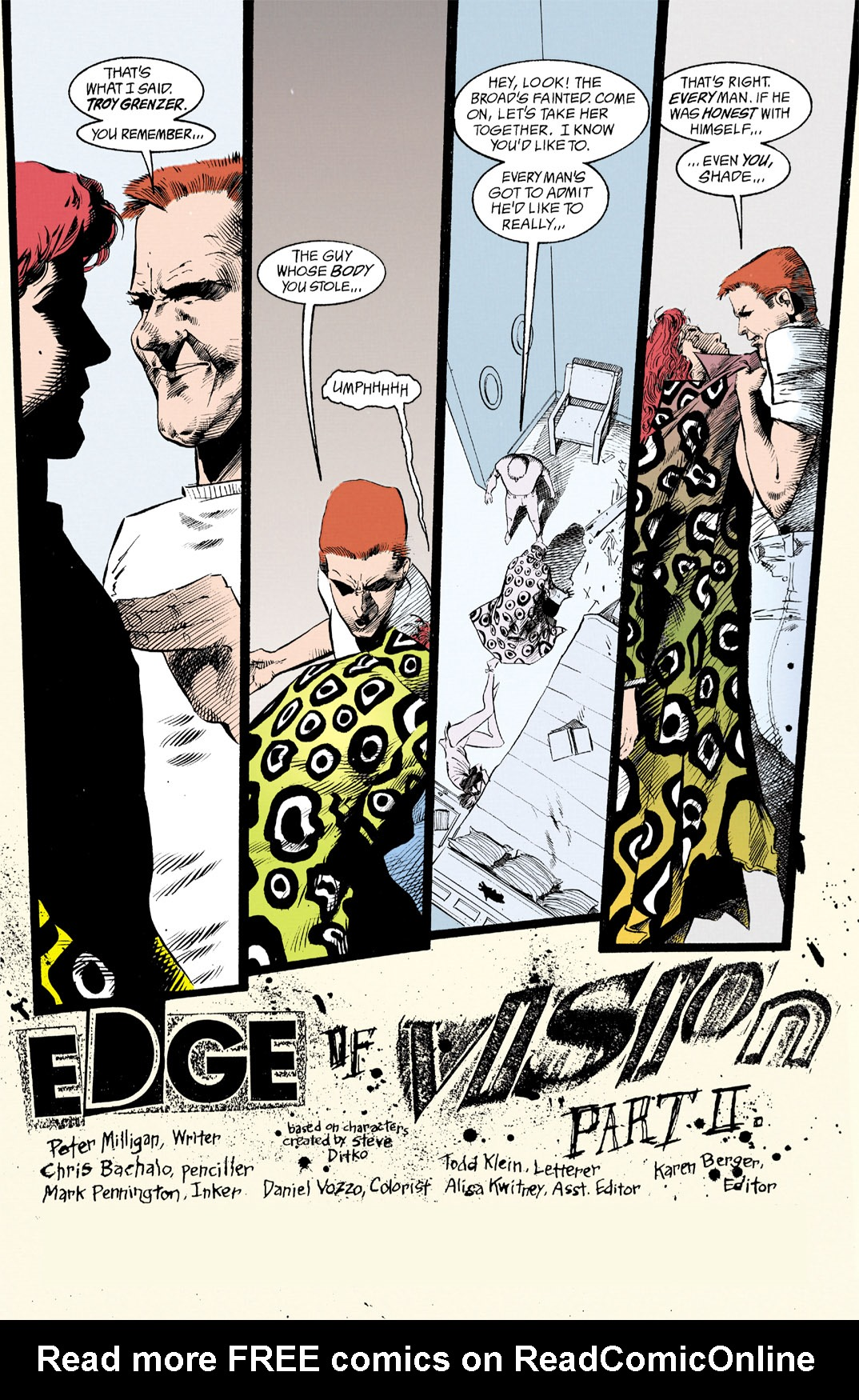 Read online Shade, the Changing Man comic -  Issue #12 - 2