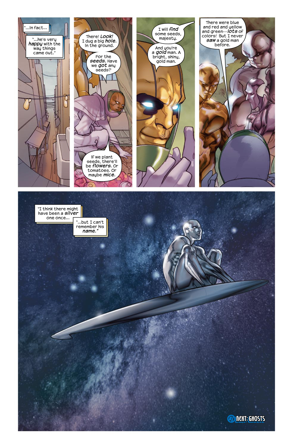 Read online Ultimate Fantastic Four (2004) comic -  Issue #46 - 25