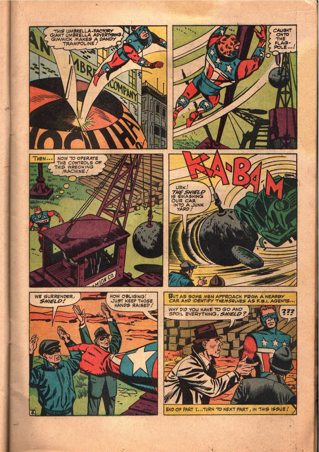 The Mighty Crusaders (1965) Issue #6 #6 - English 9