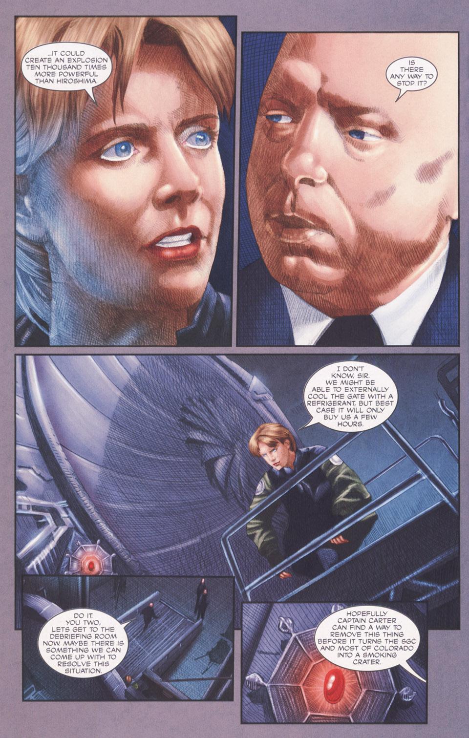 Read online Stargate SG-1: POW comic -  Issue #2 - 6