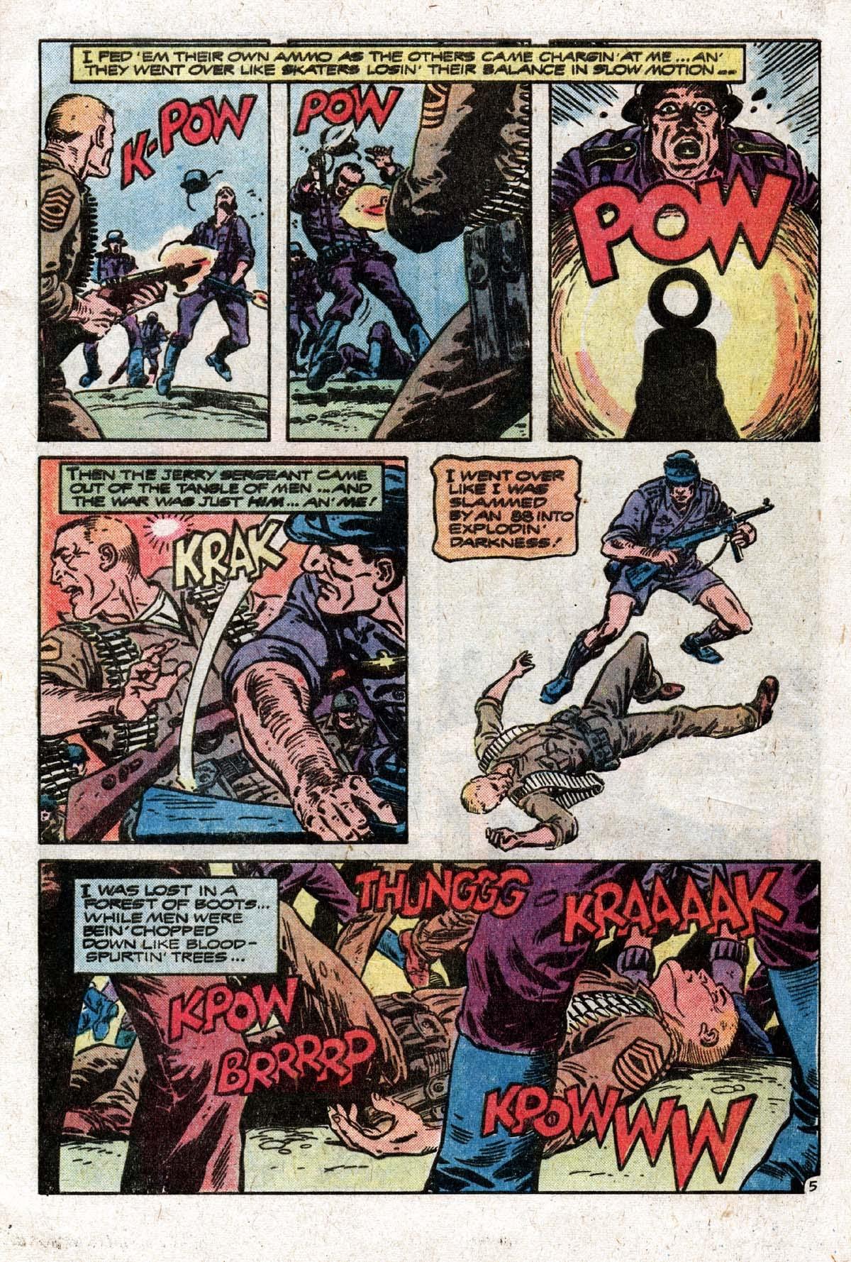 Read online Sgt. Rock comic -  Issue #319 - 8