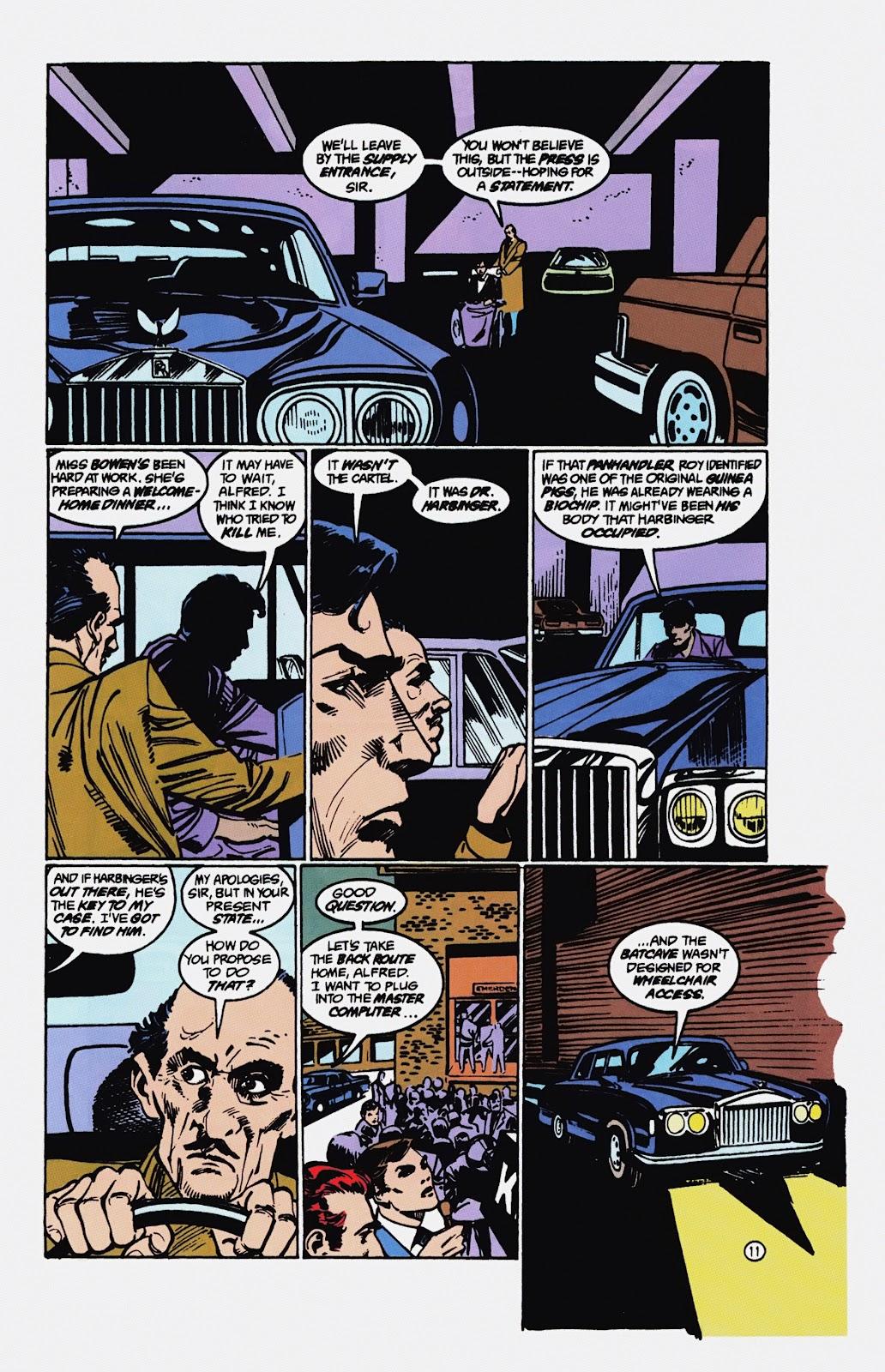 Read online Detective Comics (1937) comic -  Issue # _TPB Batman - Blind Justice (Part 1) - 98