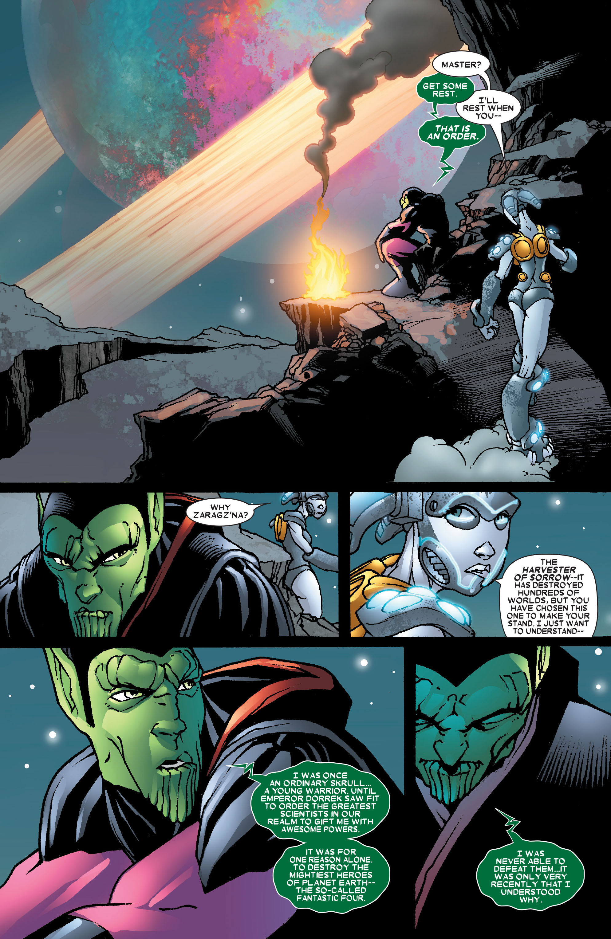 Read online Annihilation: Super-Skrull comic -  Issue #3 - 15