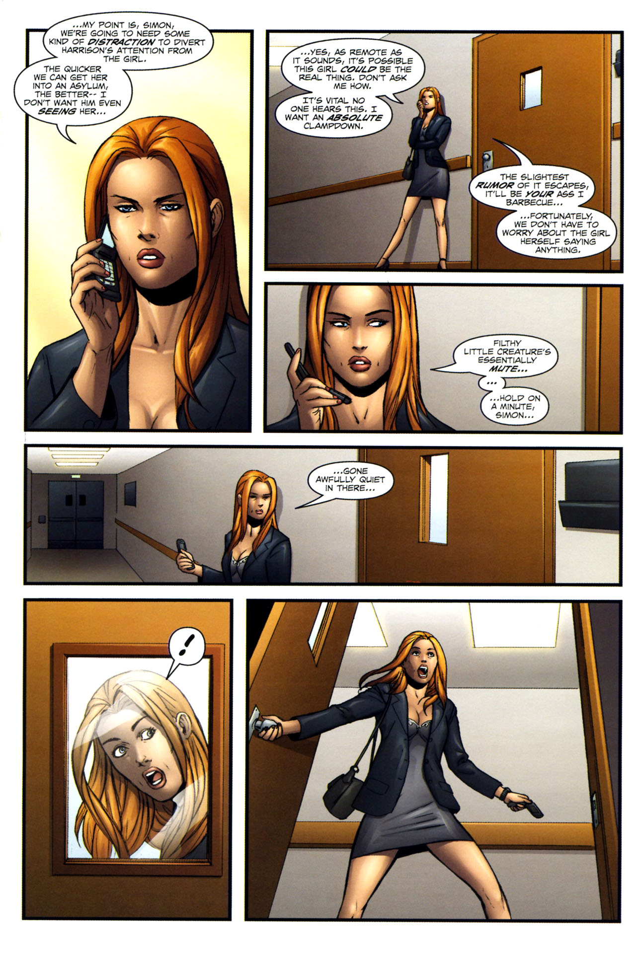 Read online Sheena, Queen of the Jungle comic -  Issue #2 - 23