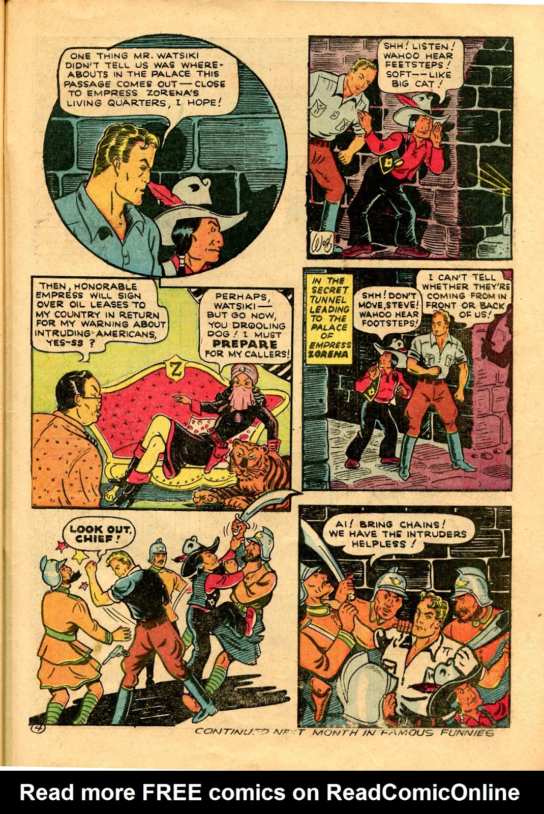 Read online Famous Funnies comic -  Issue #101 - 65