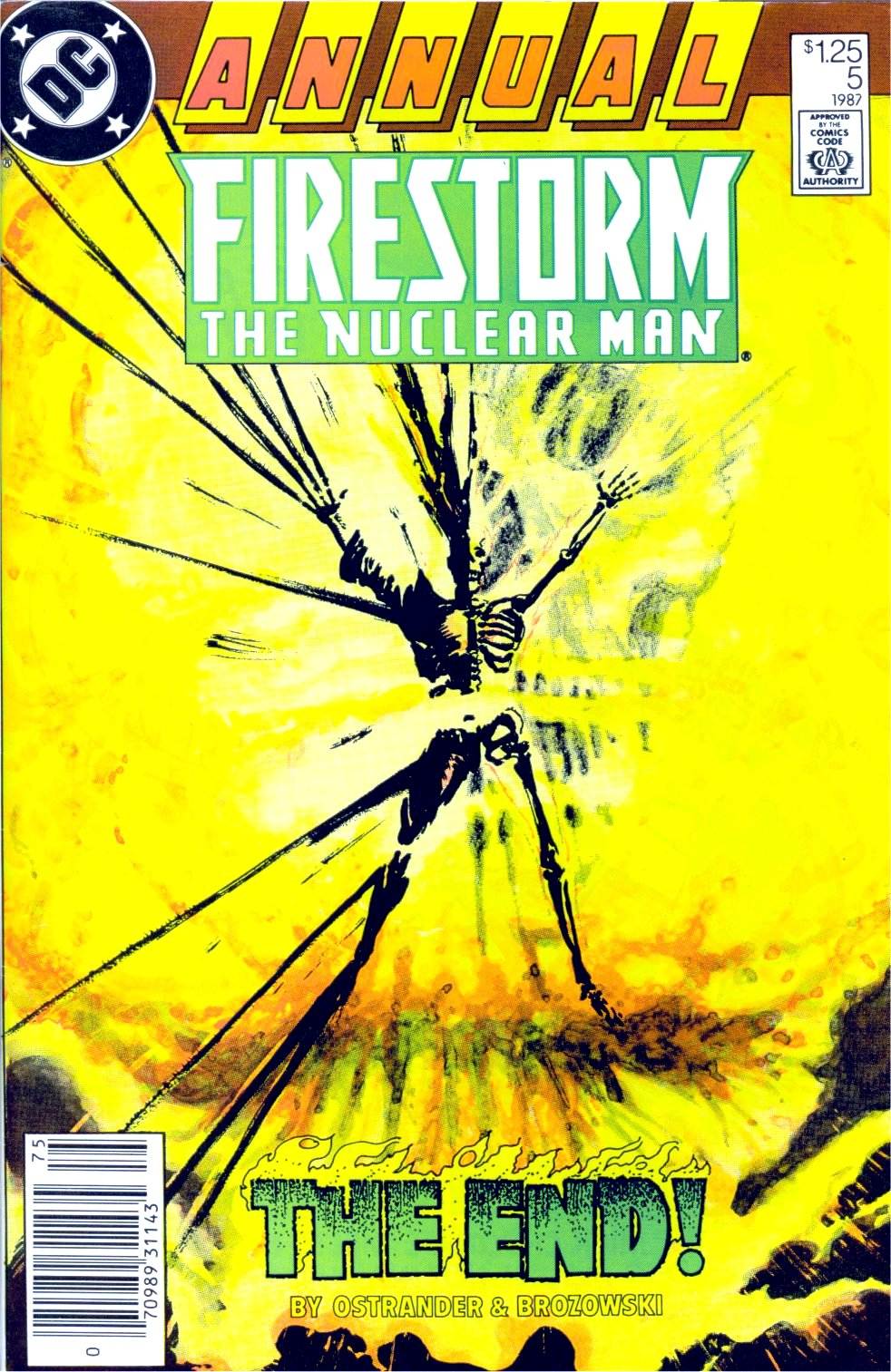 Read online Firestorm Annual comic -  Issue # Full - 1