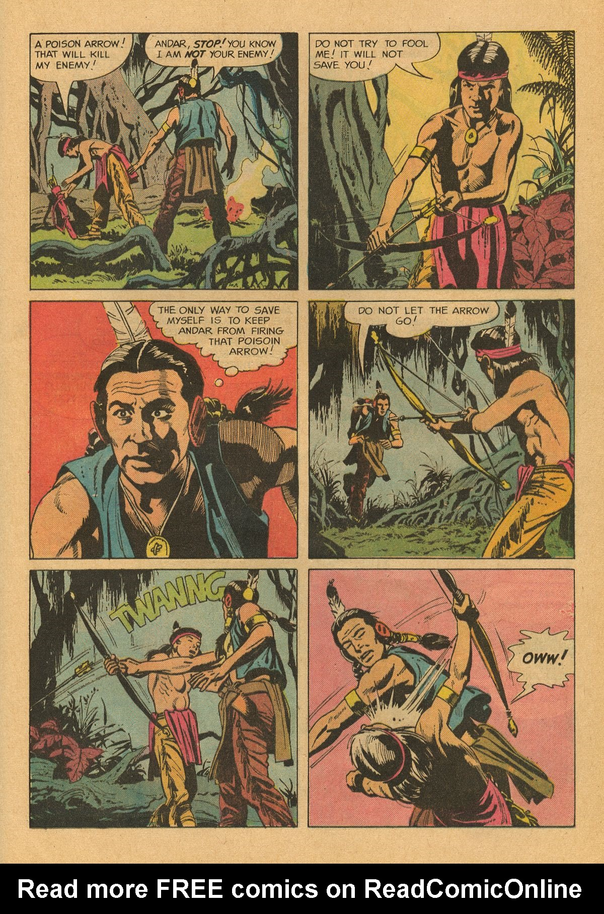 Read online Turok, Son of Stone comic -  Issue #75 - 20