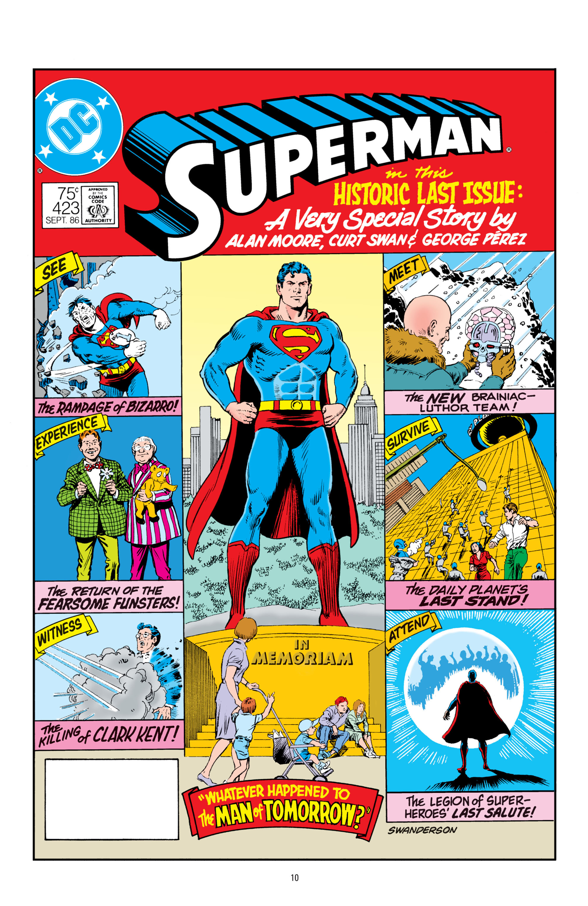Read online Superman: Whatever Happened to the Man of Tomorrow? comic -  Issue # TPB - 9