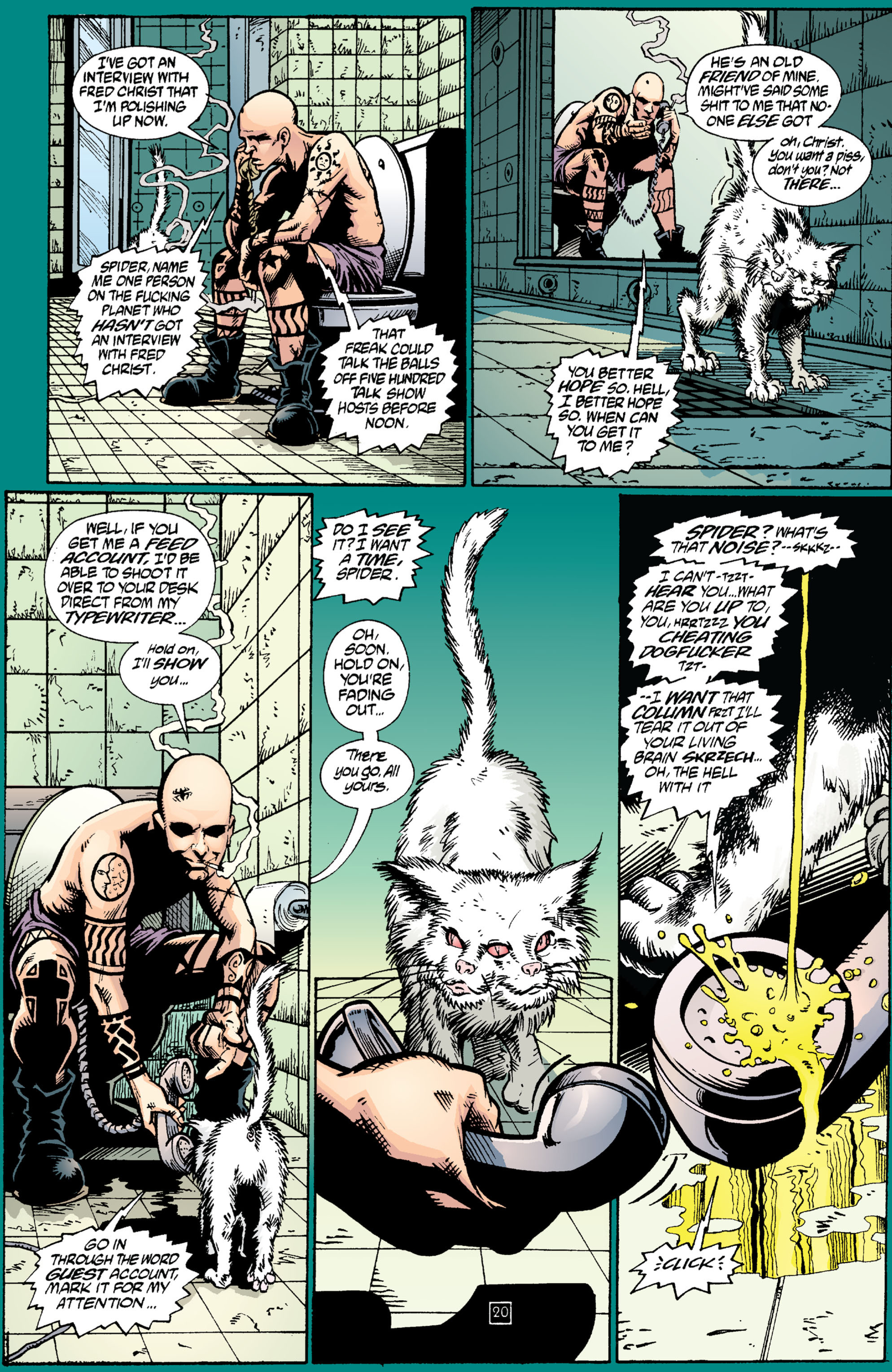 Read online Transmetropolitan comic -  Issue #2 - 21